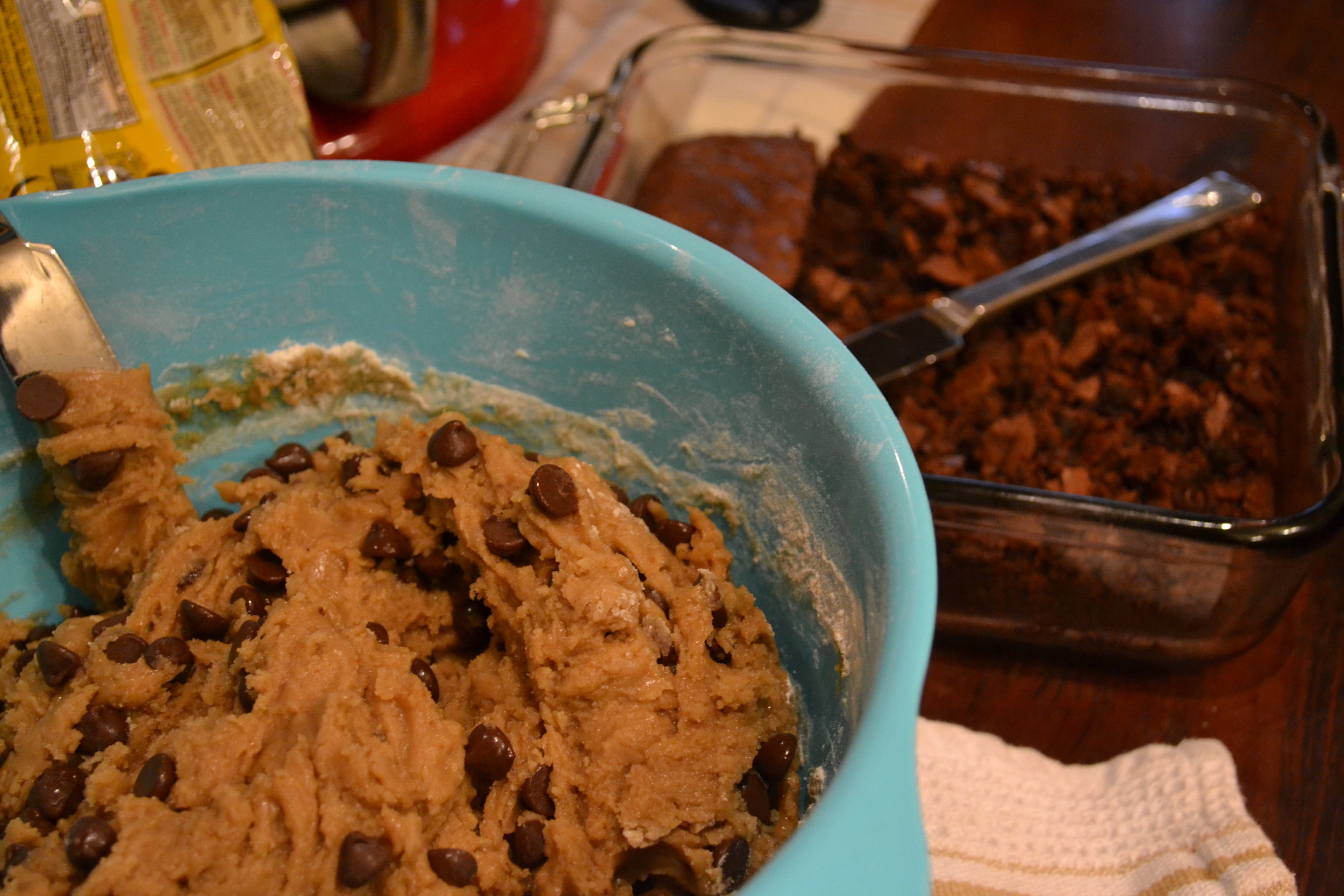 Brown Butter Chocolate Chip Cookie Batter