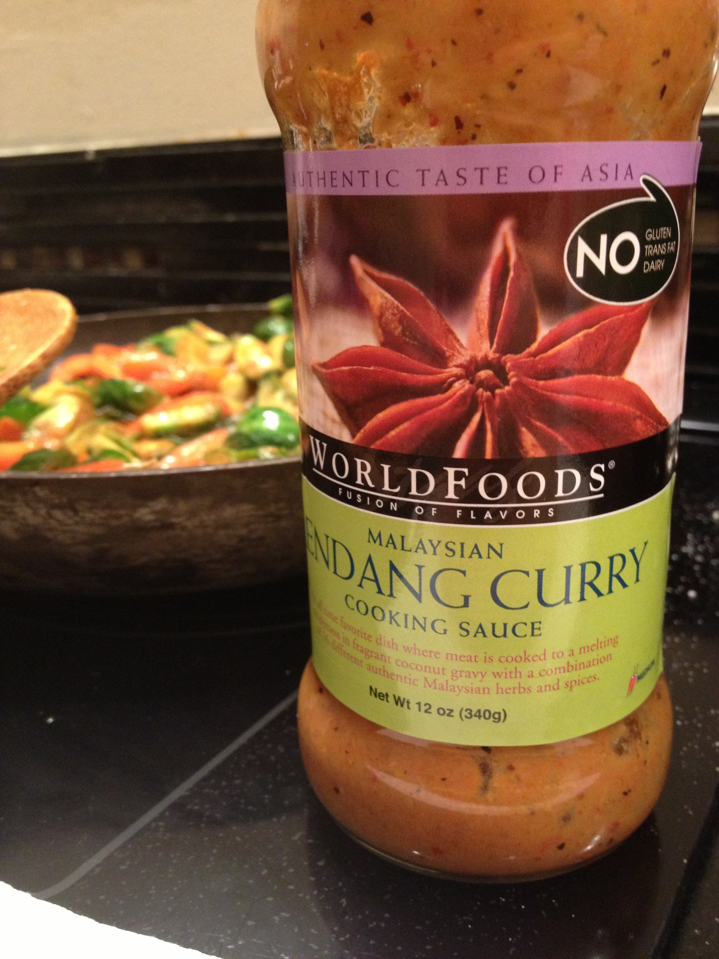 WorldFoods Rendang Curry Sauce