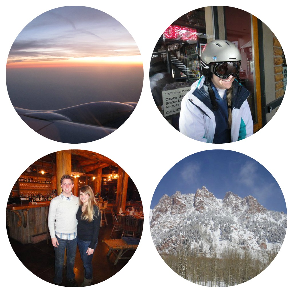 Ski Country Vacation Collage