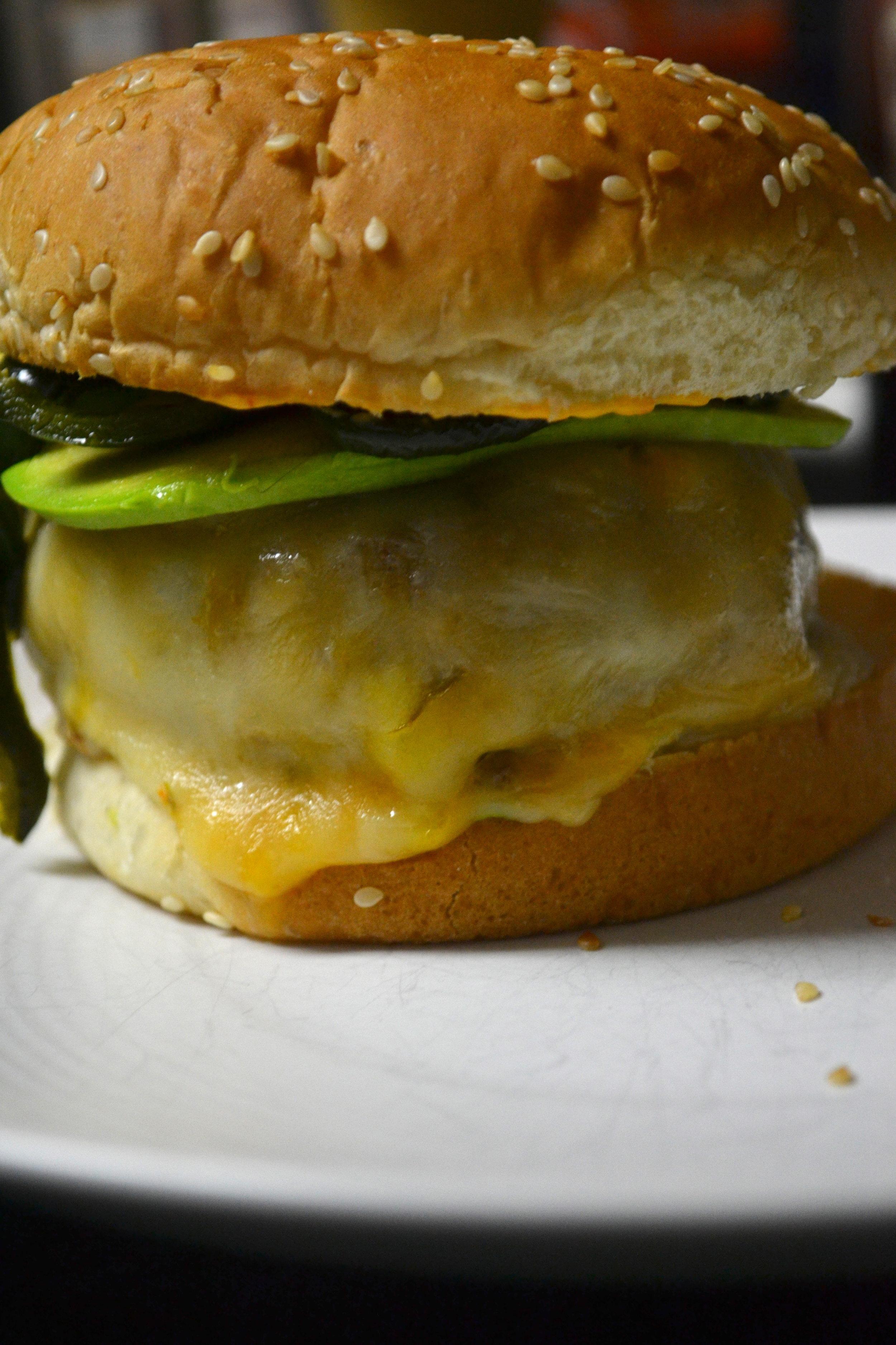 Homemade Colorado Burger
