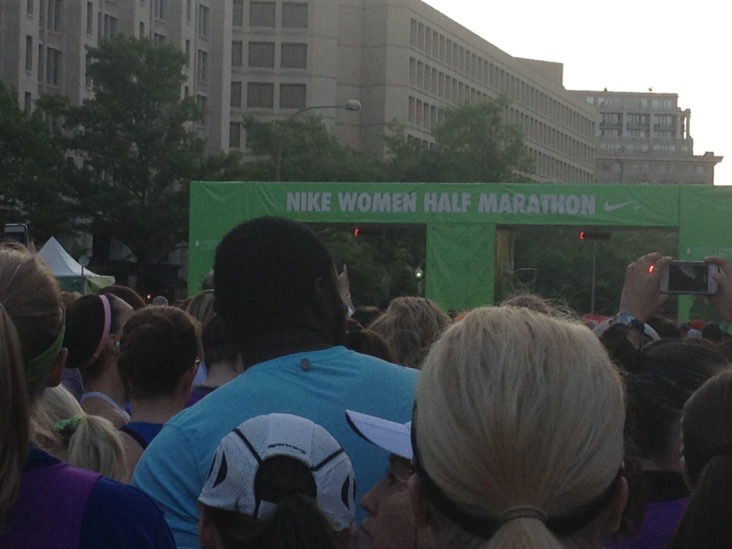 Nike Half Start Line