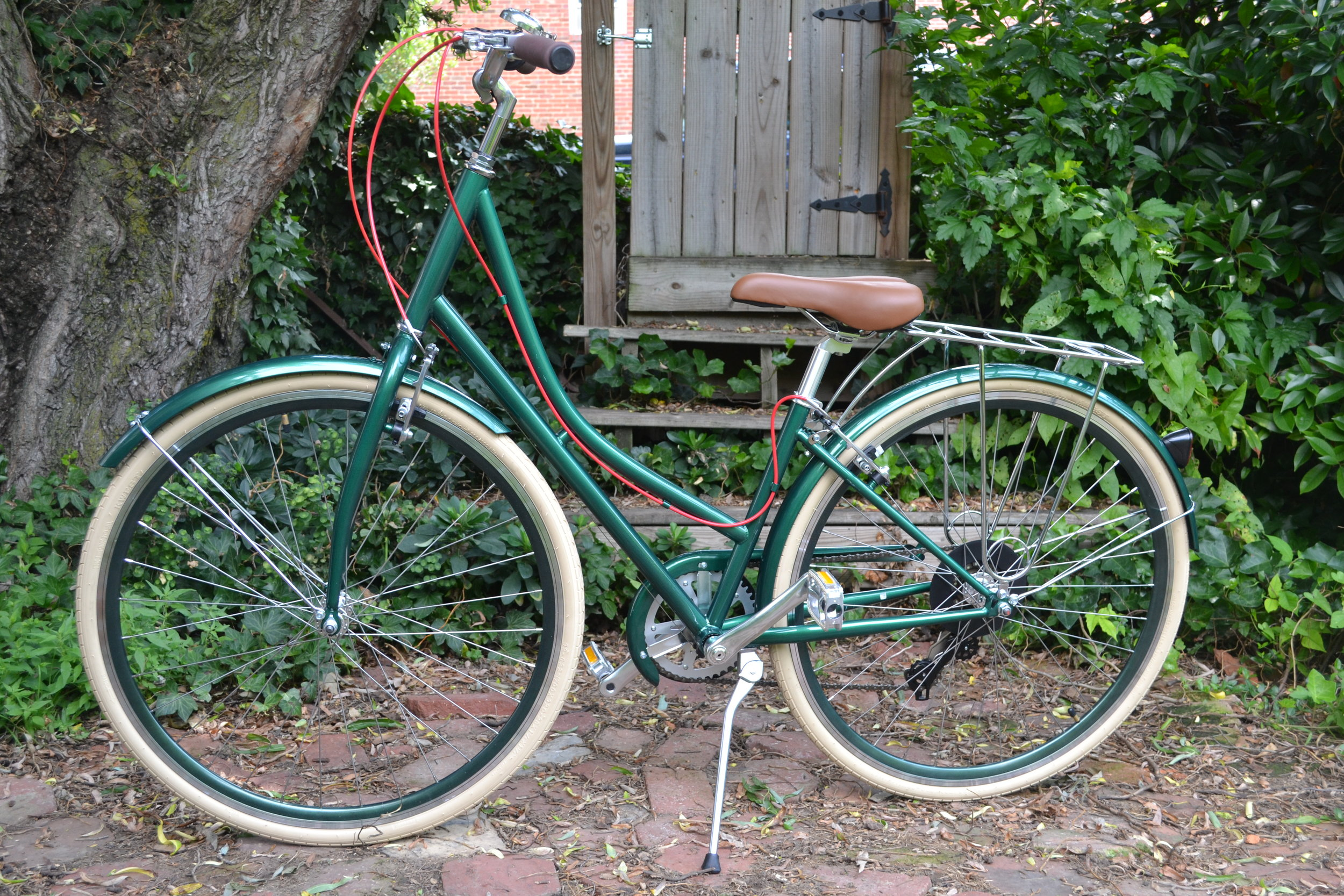 my pretty green bicycle