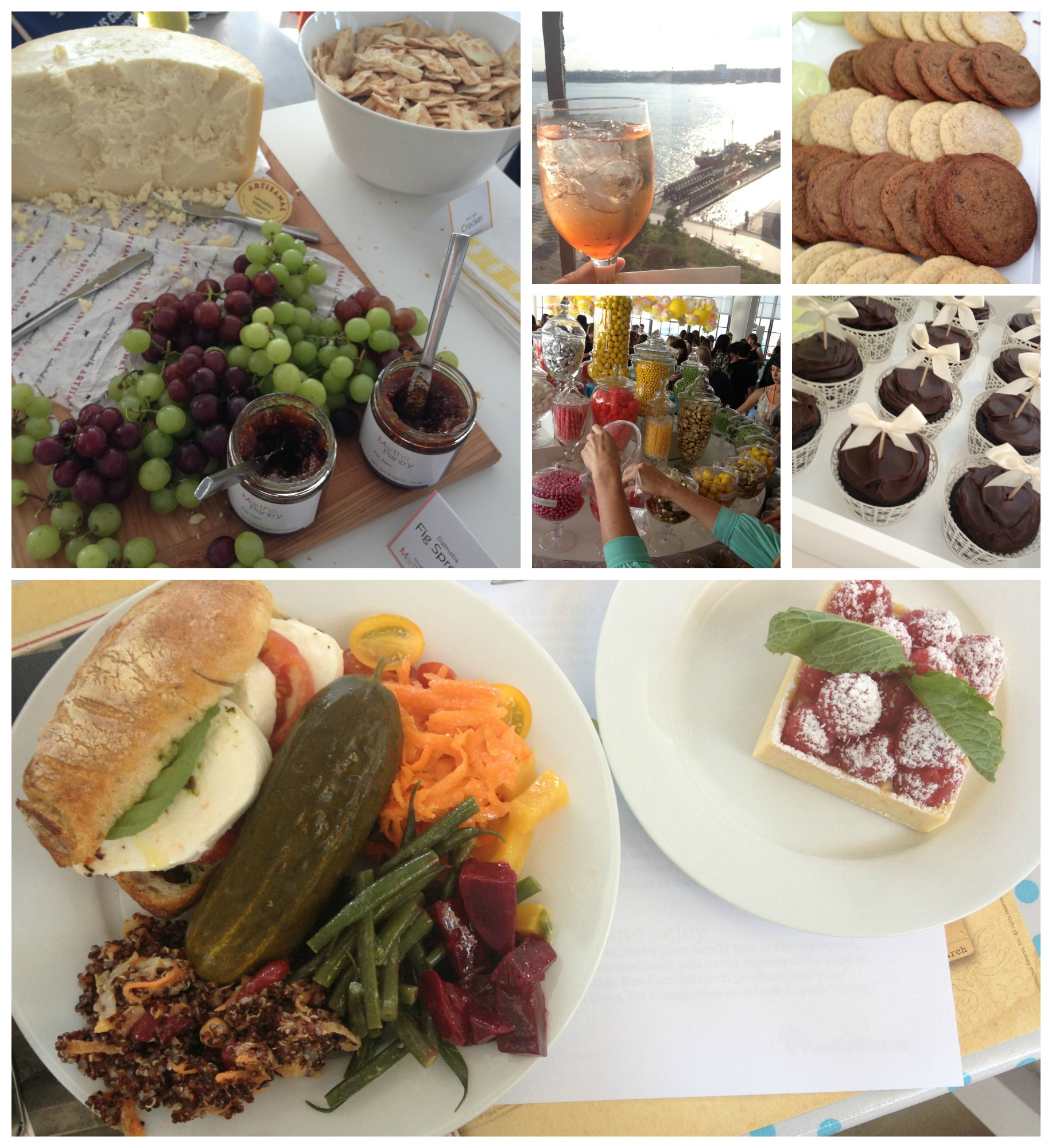 alt food collage
