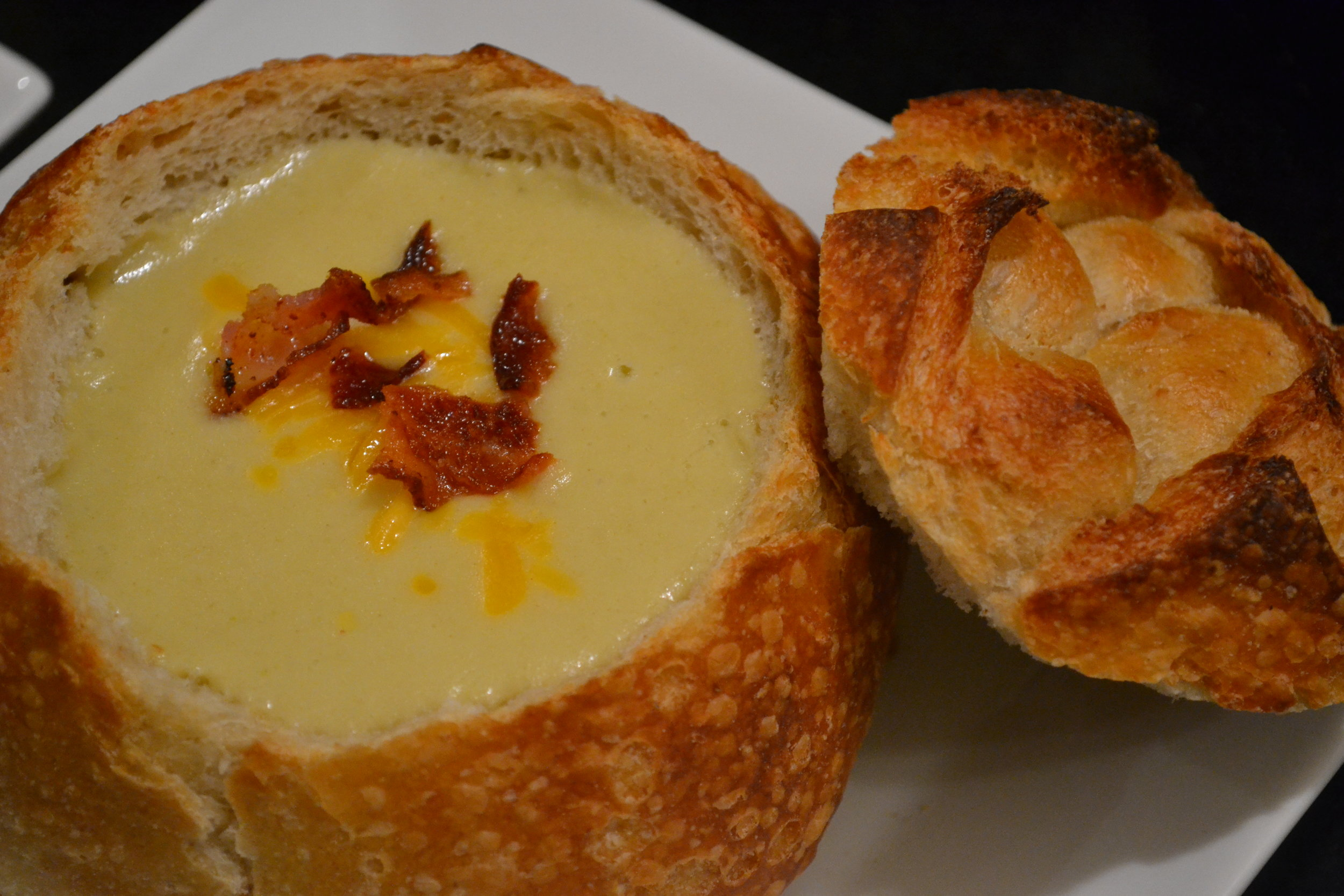 Cheddar, Bacon & Beer Soup 2