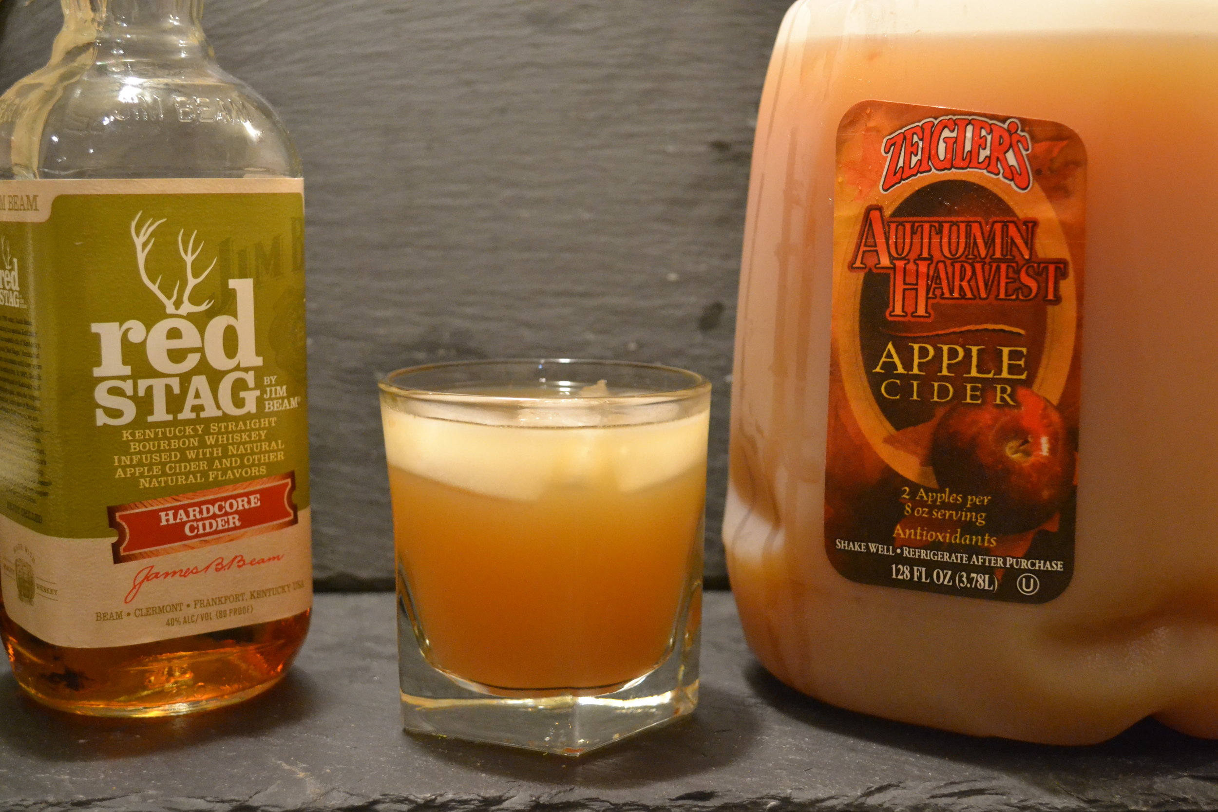 Apple Cider & Whiskey