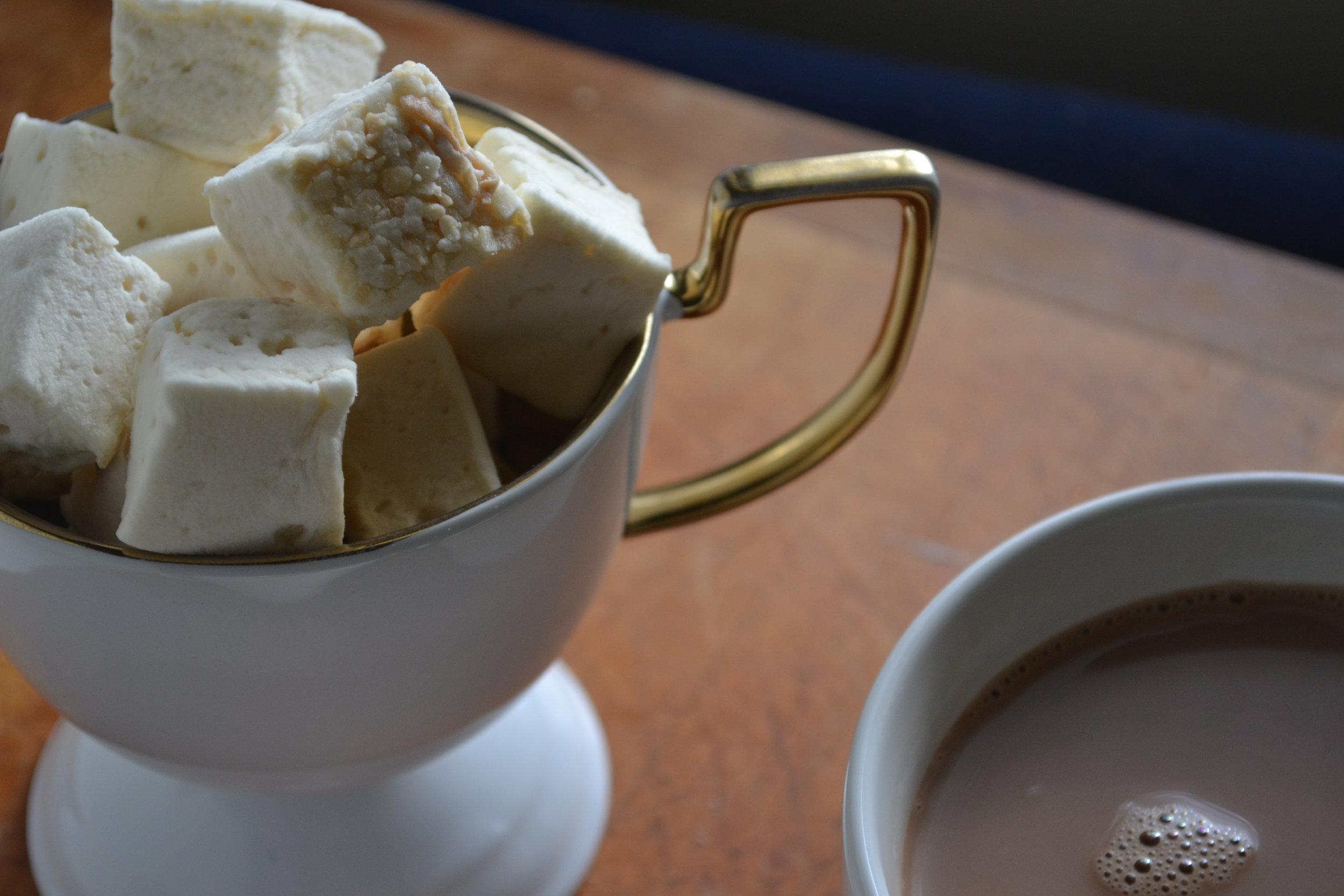 homemade mint coconut cocoa
