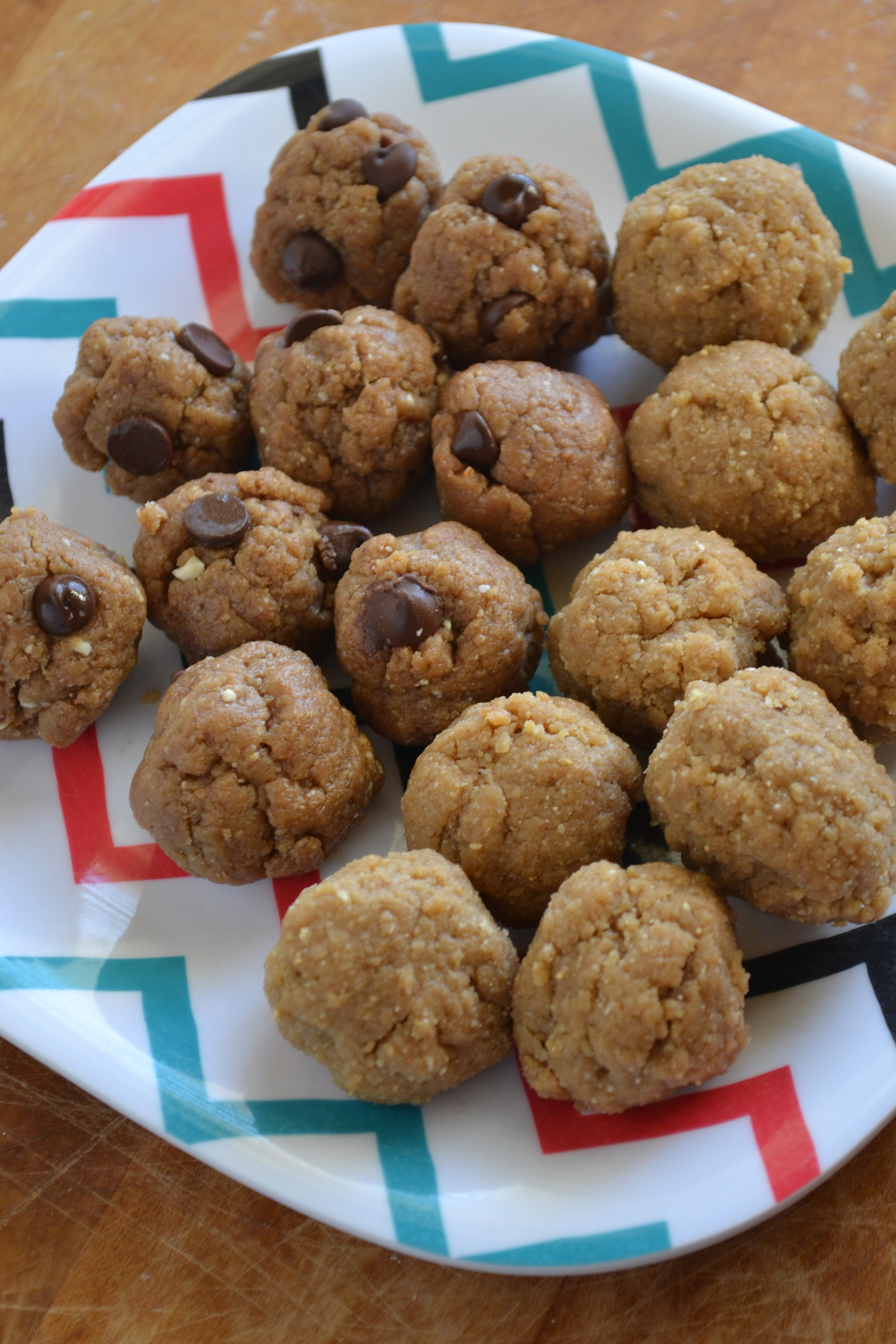 Raw cookie dough bites 2
