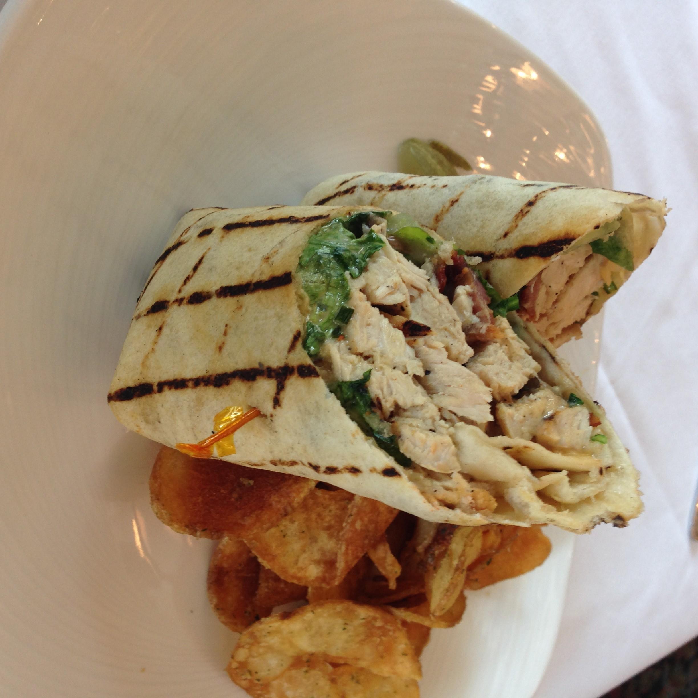 Highland Inn Grilled Chicken Wrap