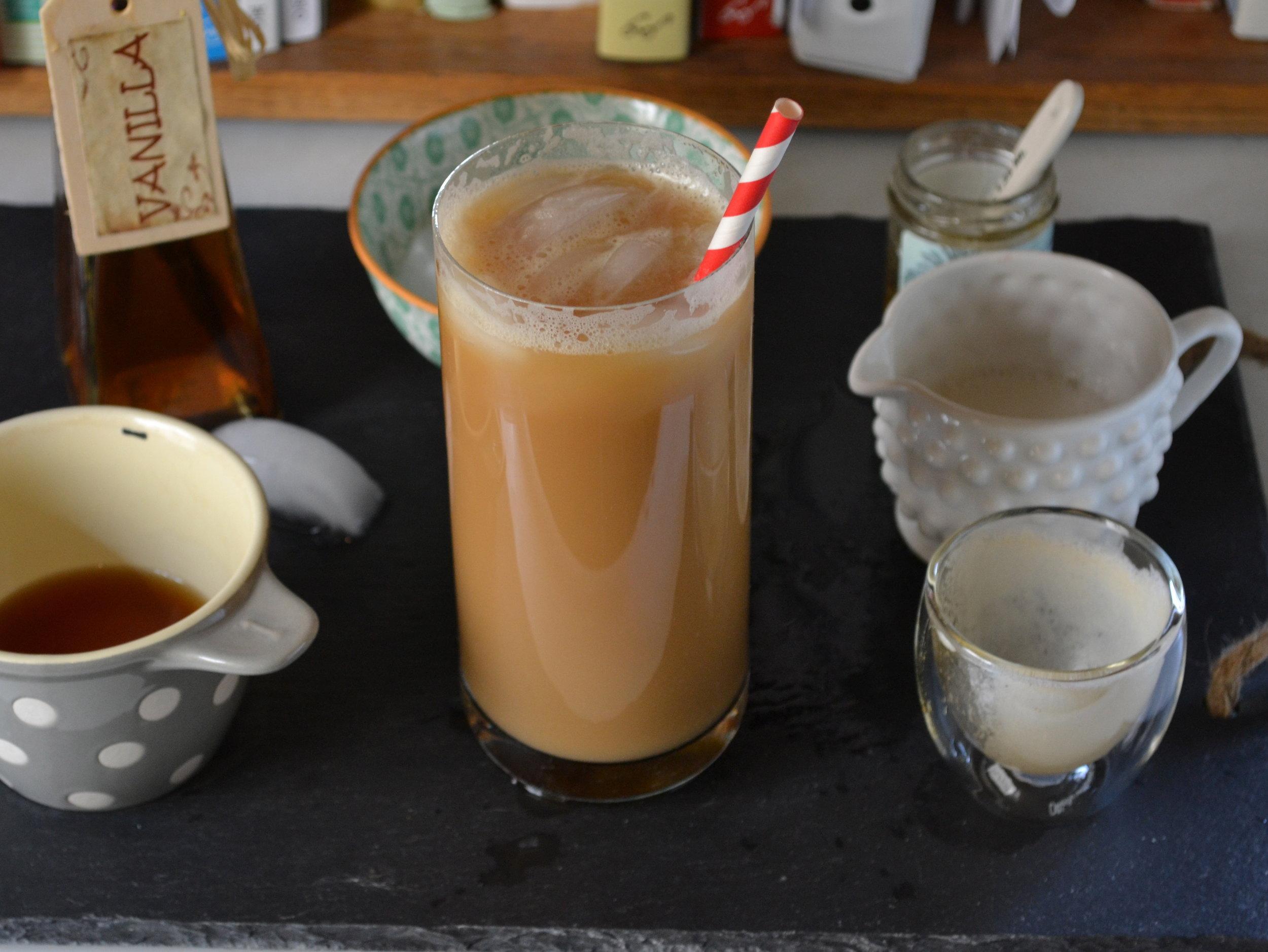 honey dirty chai