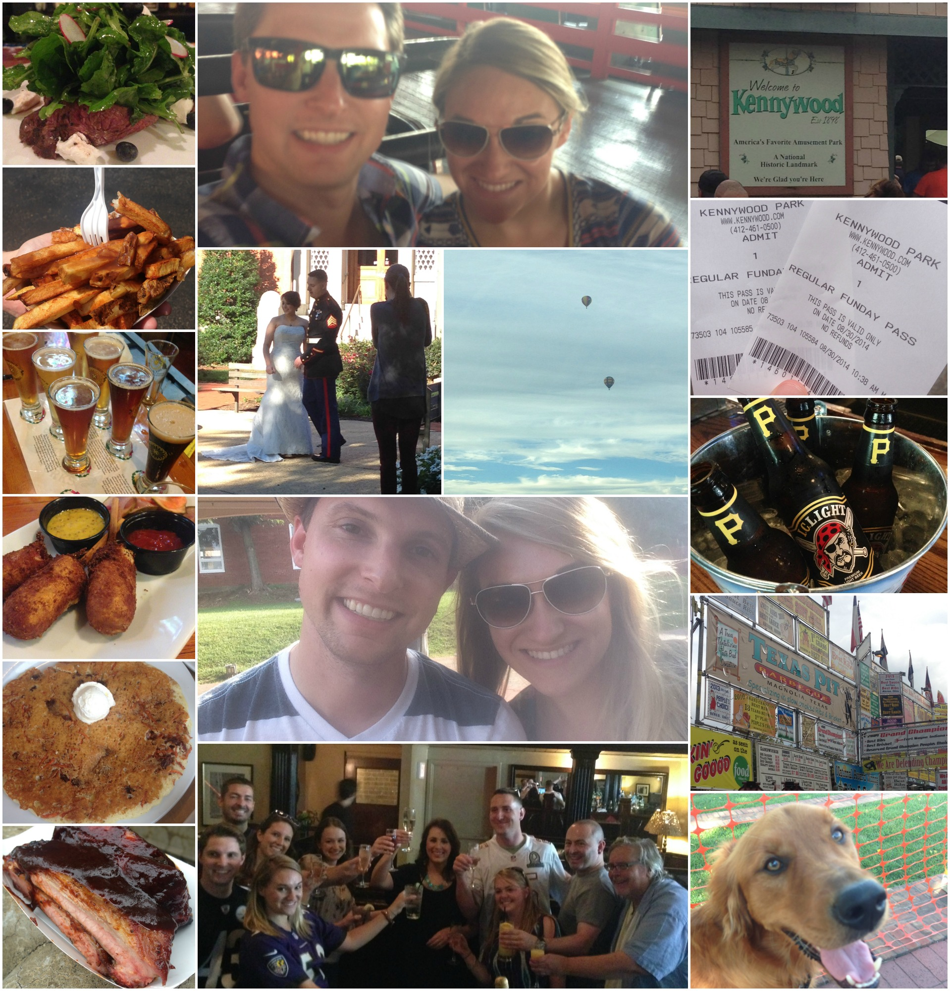 Weekends Collage