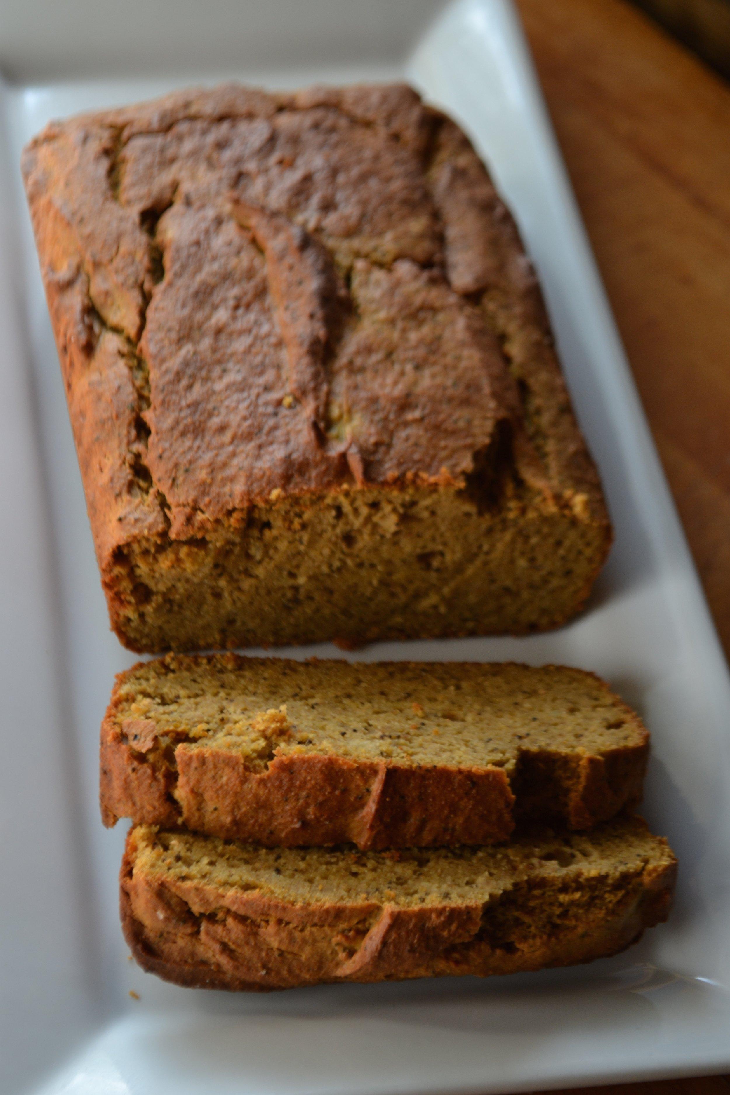 Pumpkin Chai Protein Bread 1