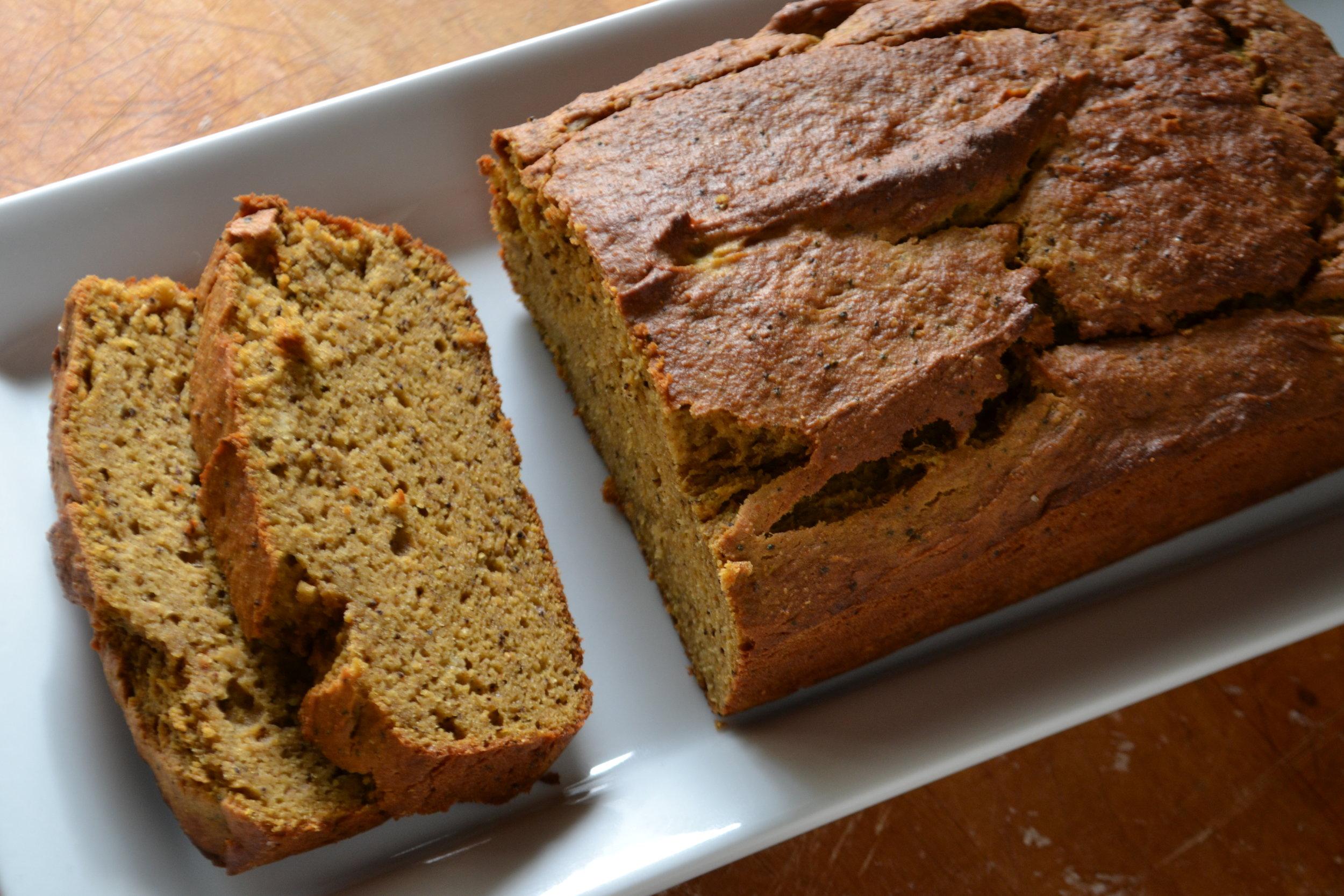 Pumpkin Chai Protein Bread 2