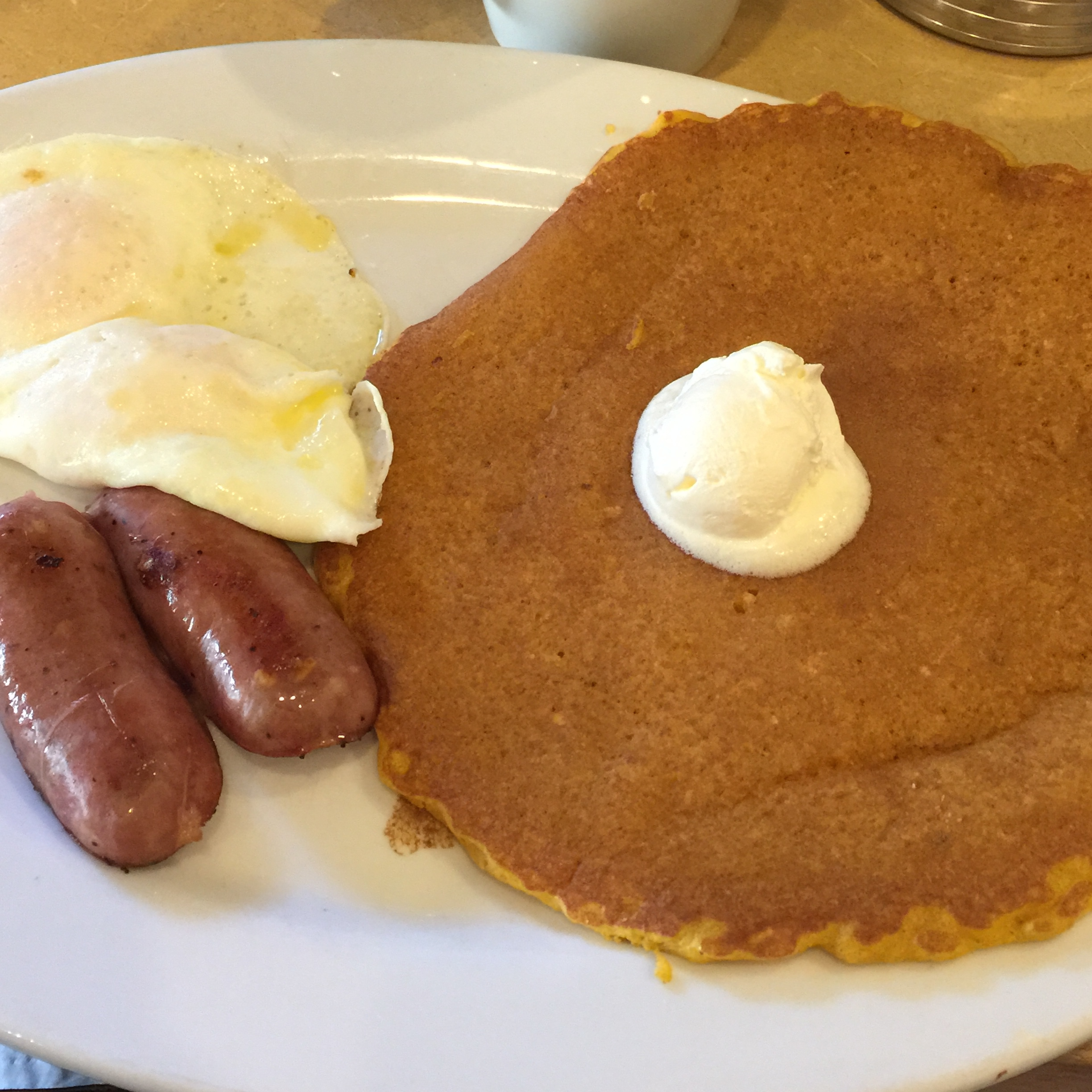 First Watch Pumpkin Pancake Special