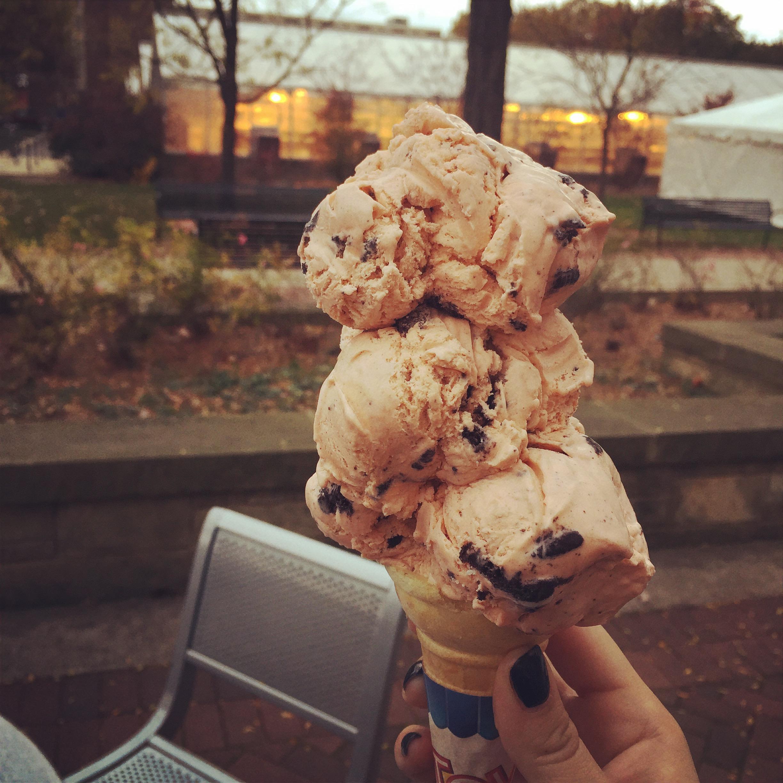 Penn State Creamery Monster Mash Ice Cream