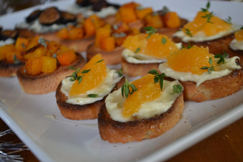 Orange Brie Crostini H