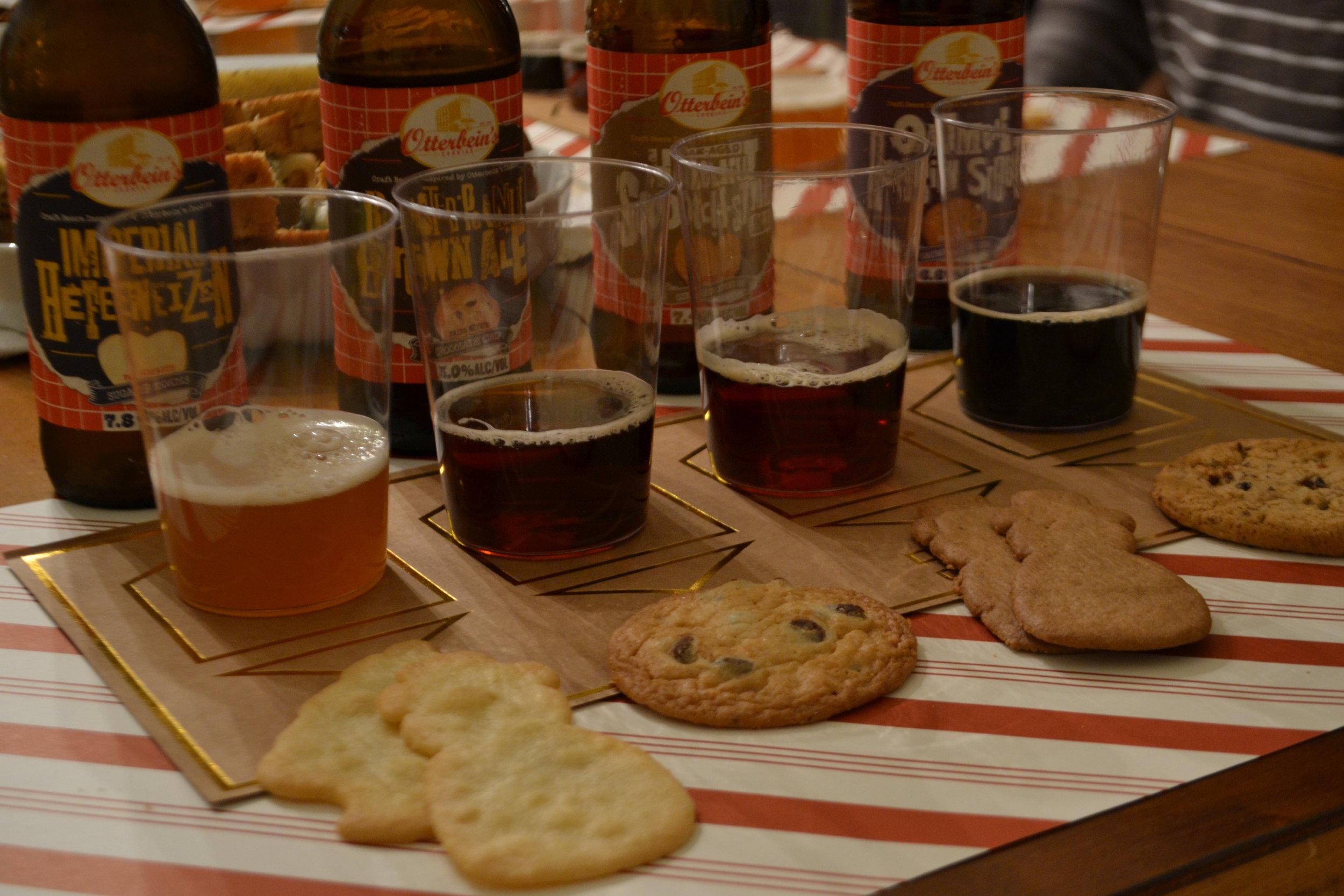 Beer Tasting Set Up 1