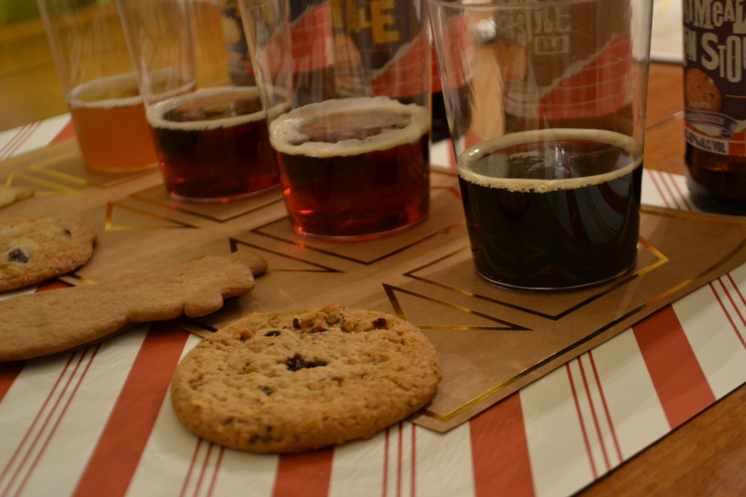 Cookies & Beer at an angle