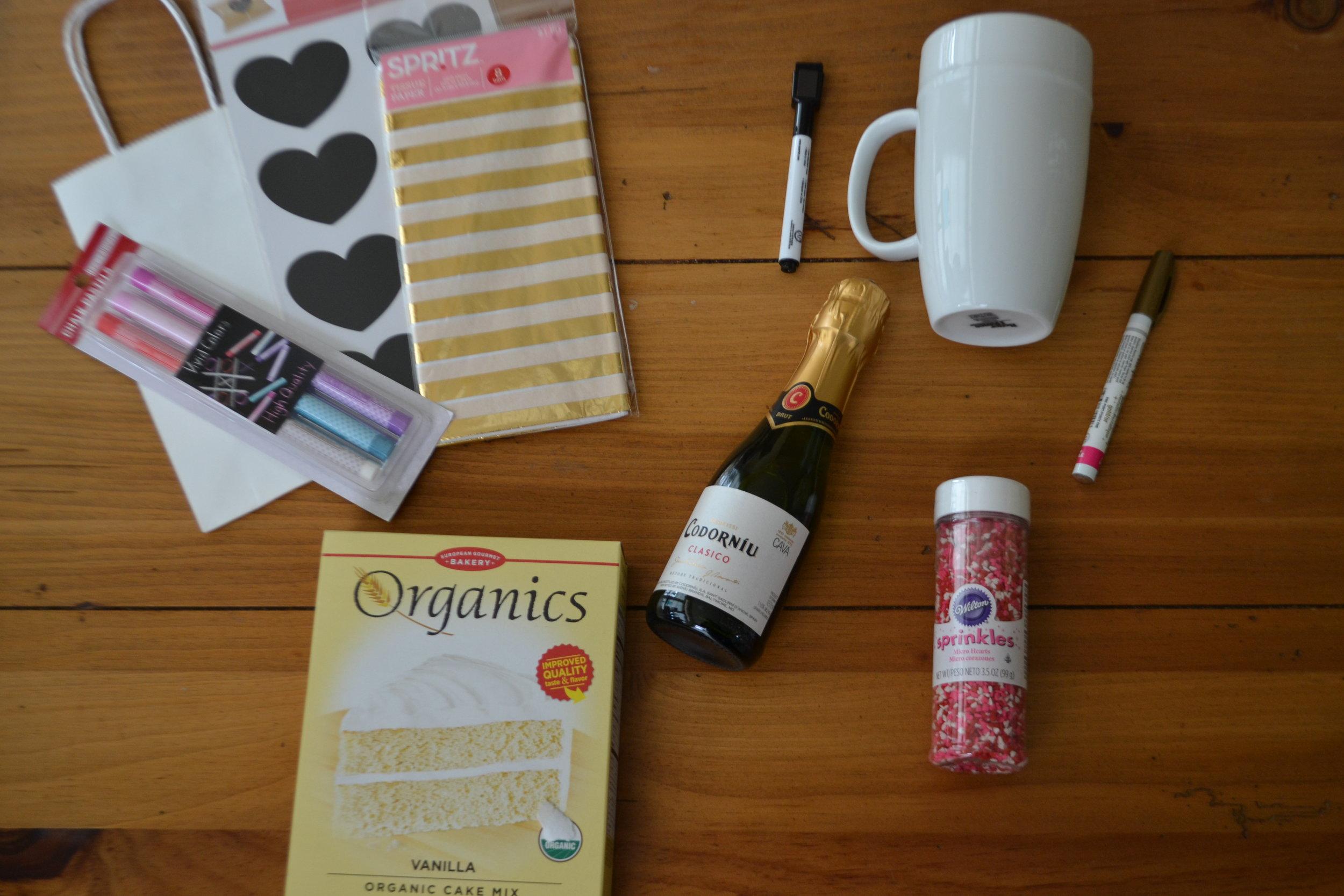 Galentine's gift supplies