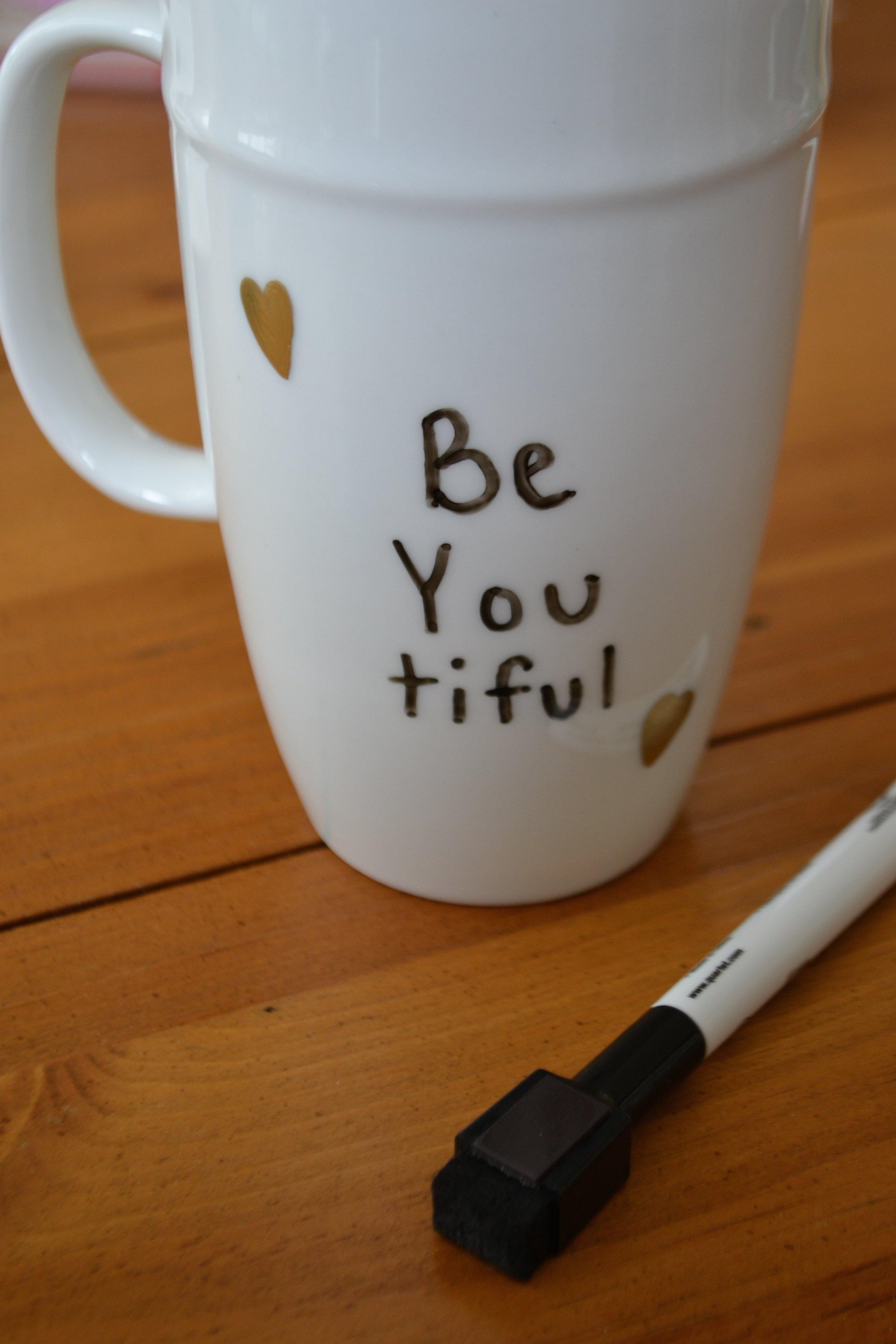 Be You tiful mug quote