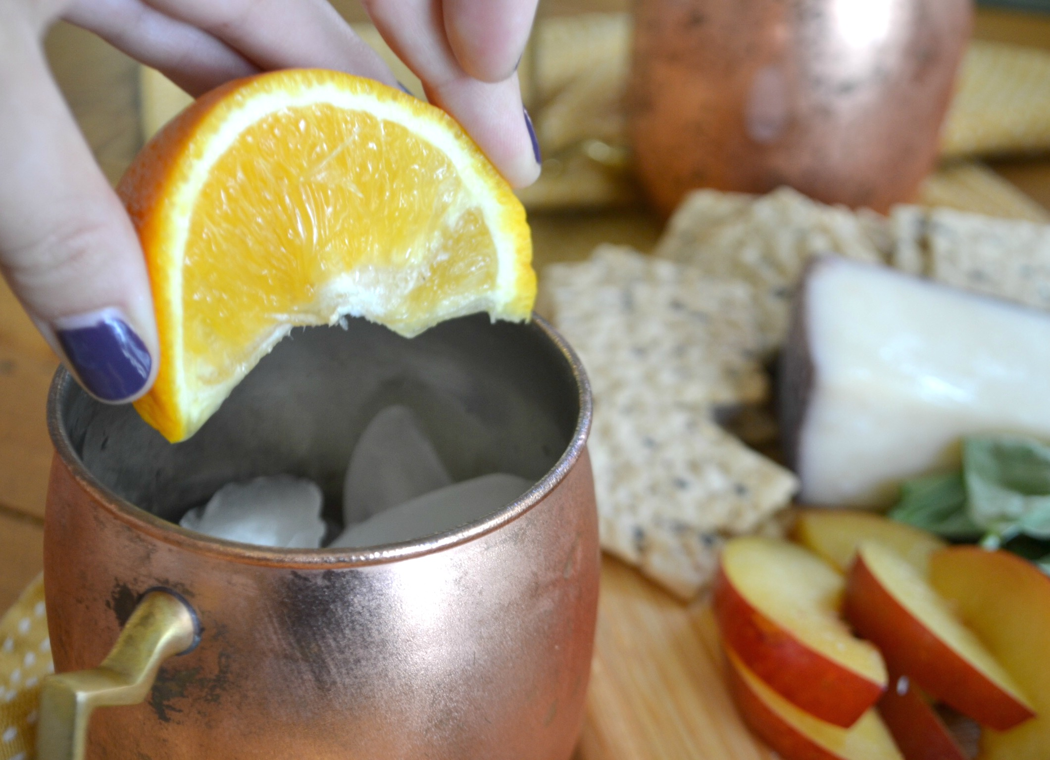 Kombucha Mules Orange Squeeze