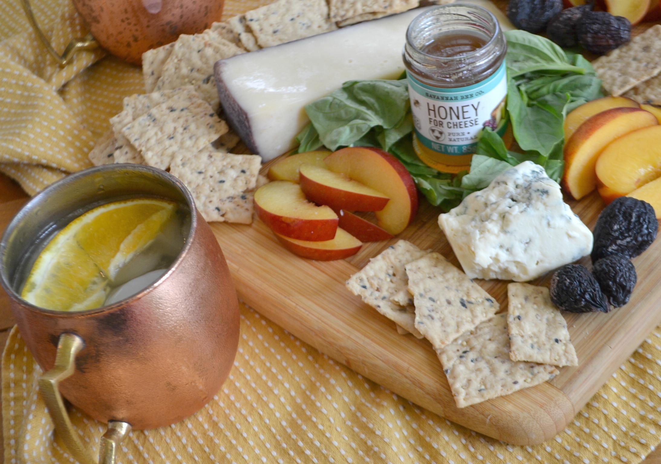 Kombucha mules cheese plate 2