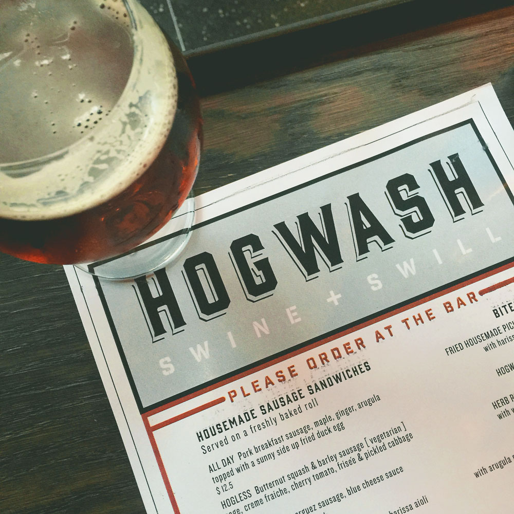 Hogwash-Menu-and-Beer