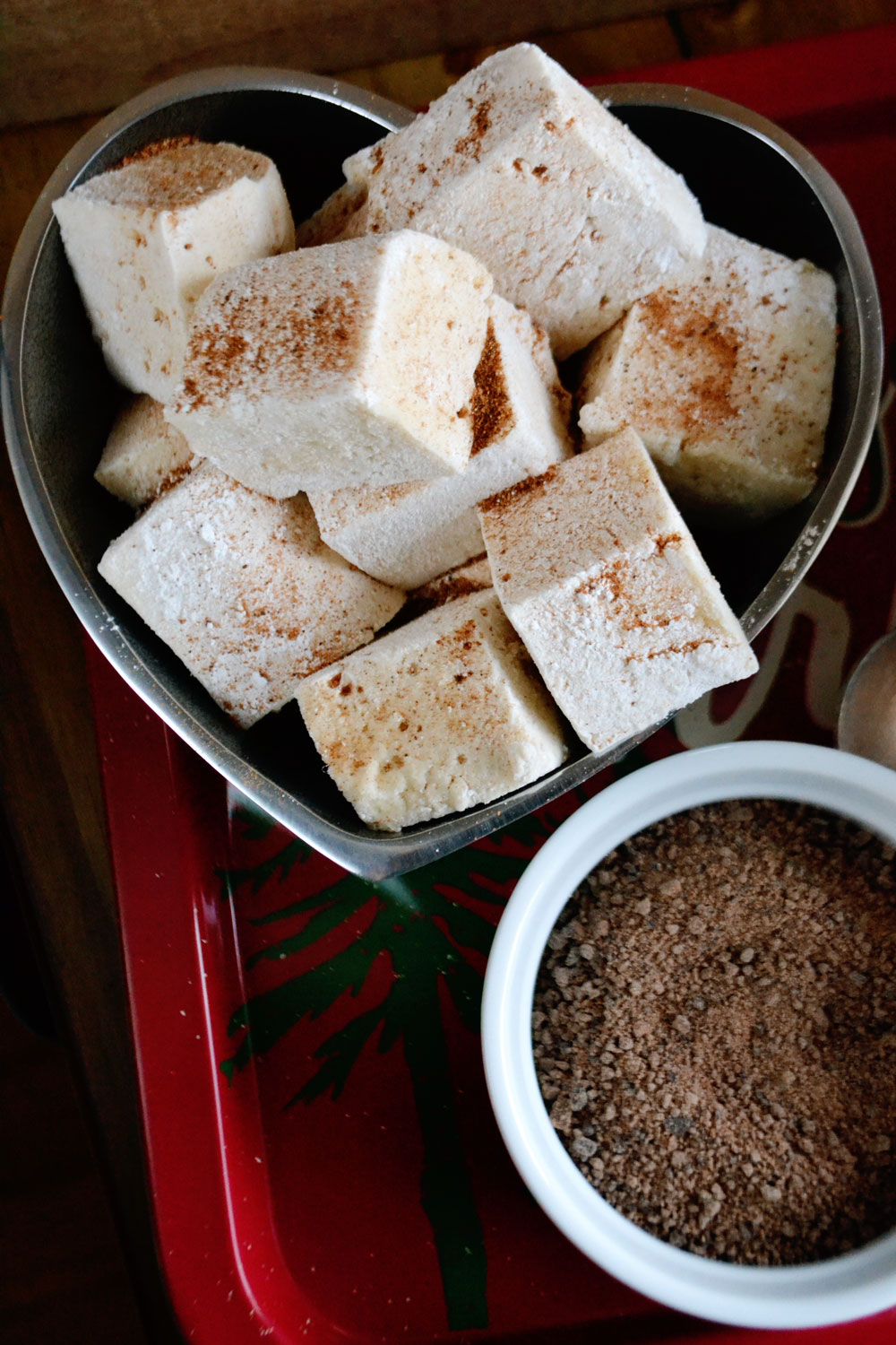 Eggnog-Mashmallows