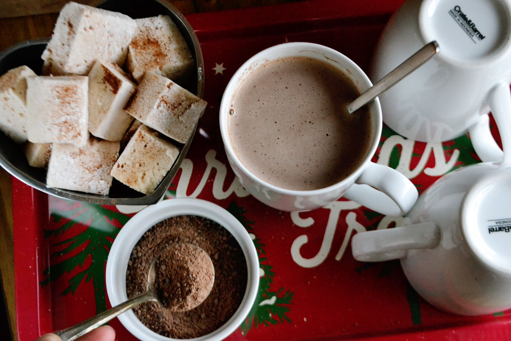 making-hot-chocolate