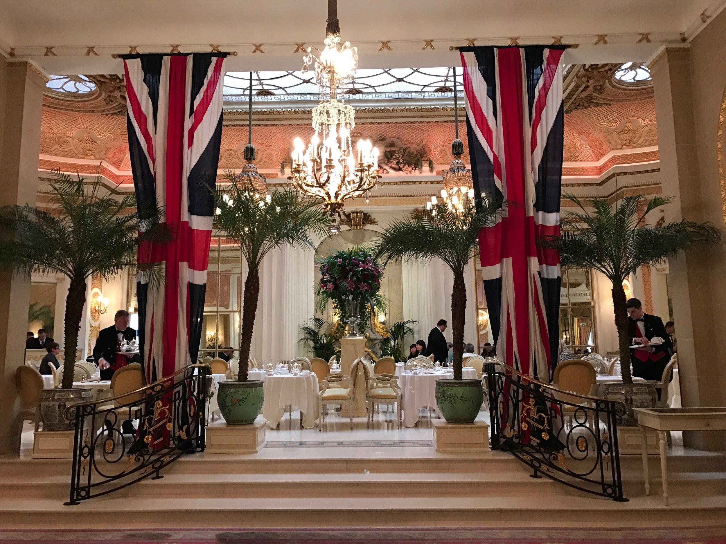 Palm Court at The Ritz London - #Kurtantravels London Travel Guide Part 2 - BySarahRae.com