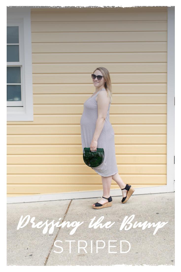 Dressing the Bump Pinterest | Maternity Fashion | BySarahRae.com