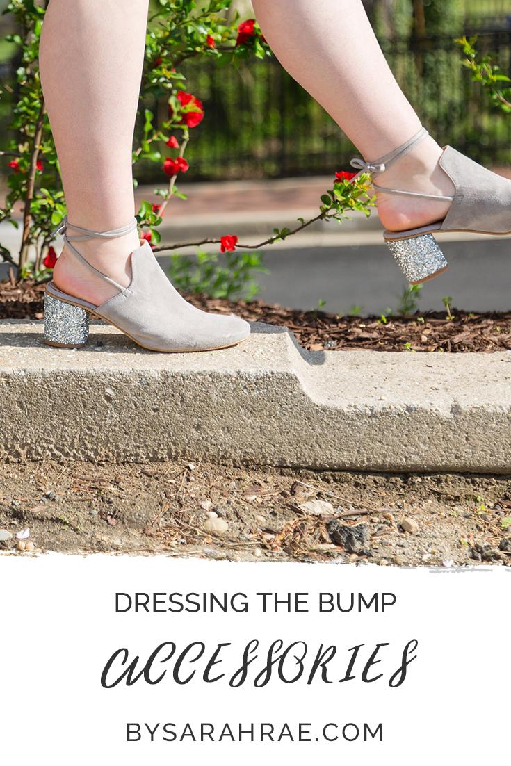 Accessorizing the bump | BySarahRae.com