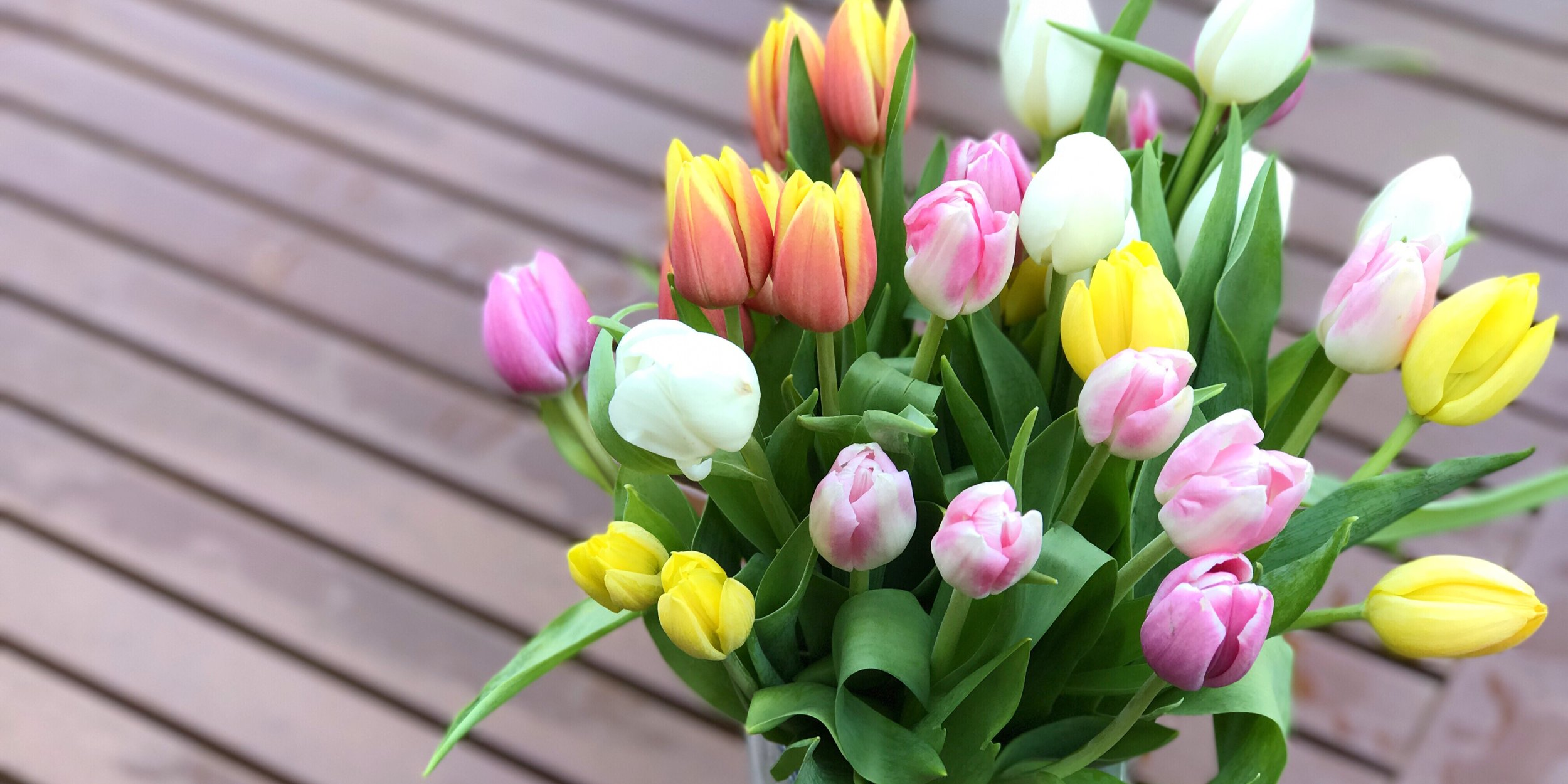 Pretty Mother's Day Tulips | Weekend Links No 3 | BySarahRae.com