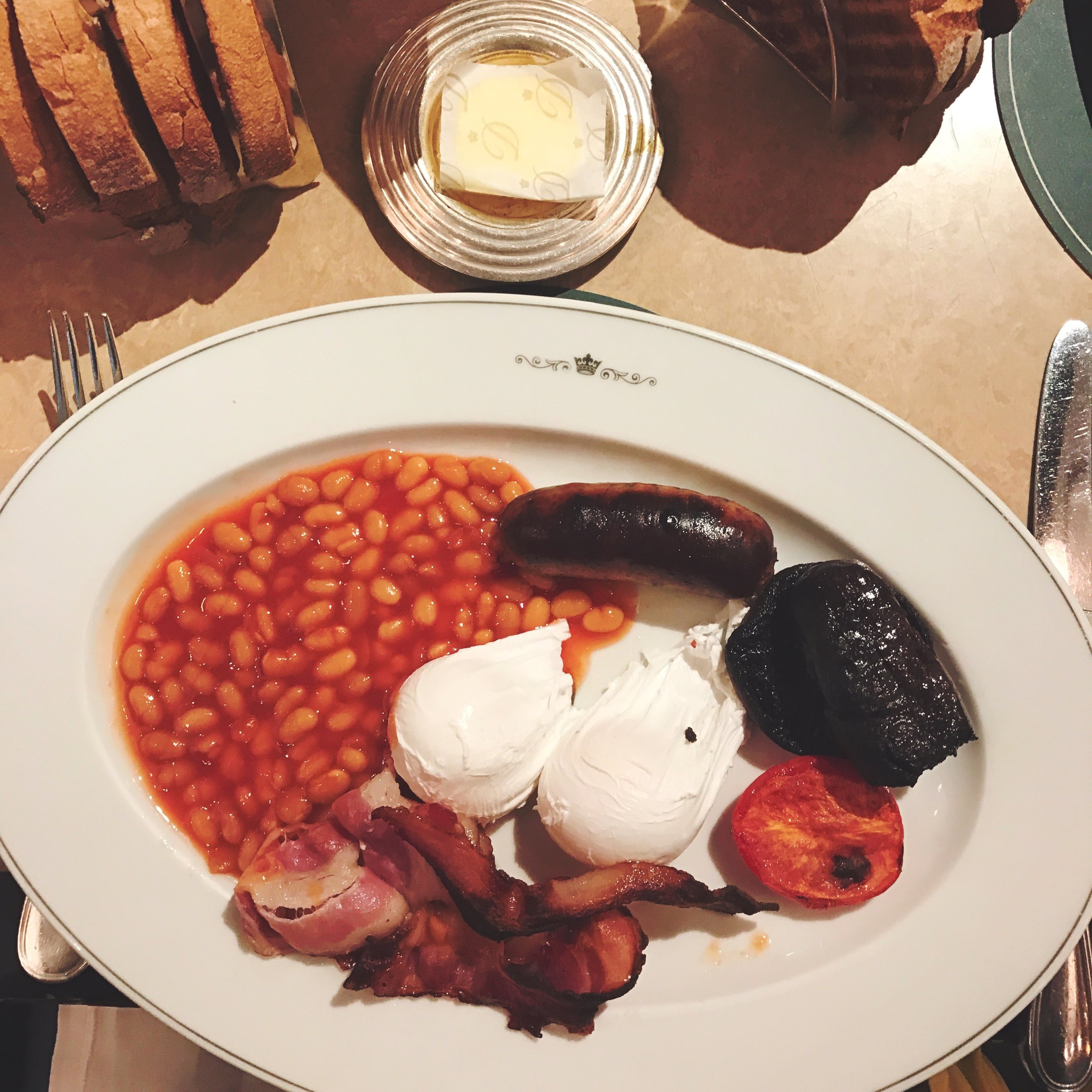 English Breakfast at The Delaunay, London