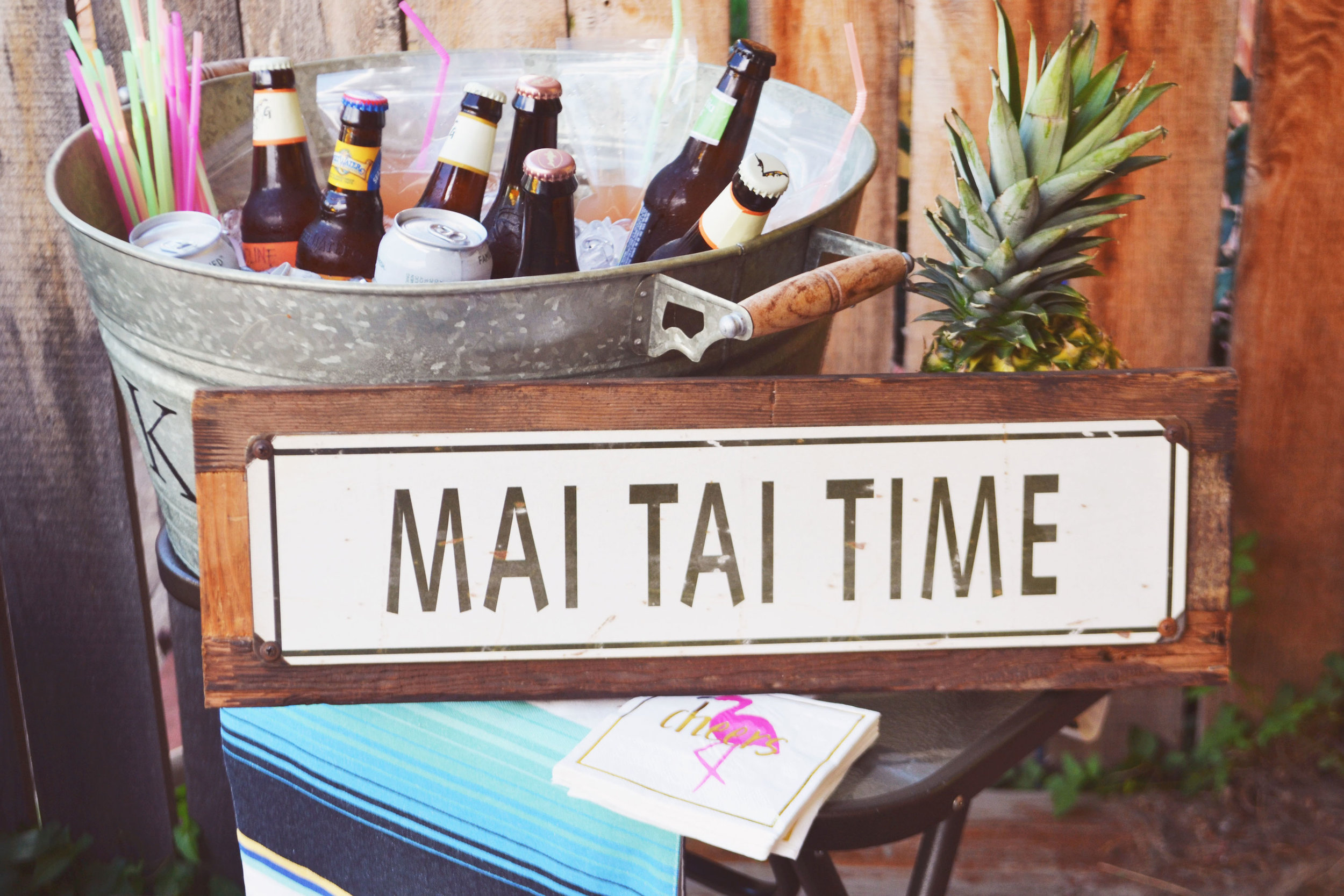 Mai Tai Time | Aloha Hawaiian Summer Brunch | BySarahRae.com