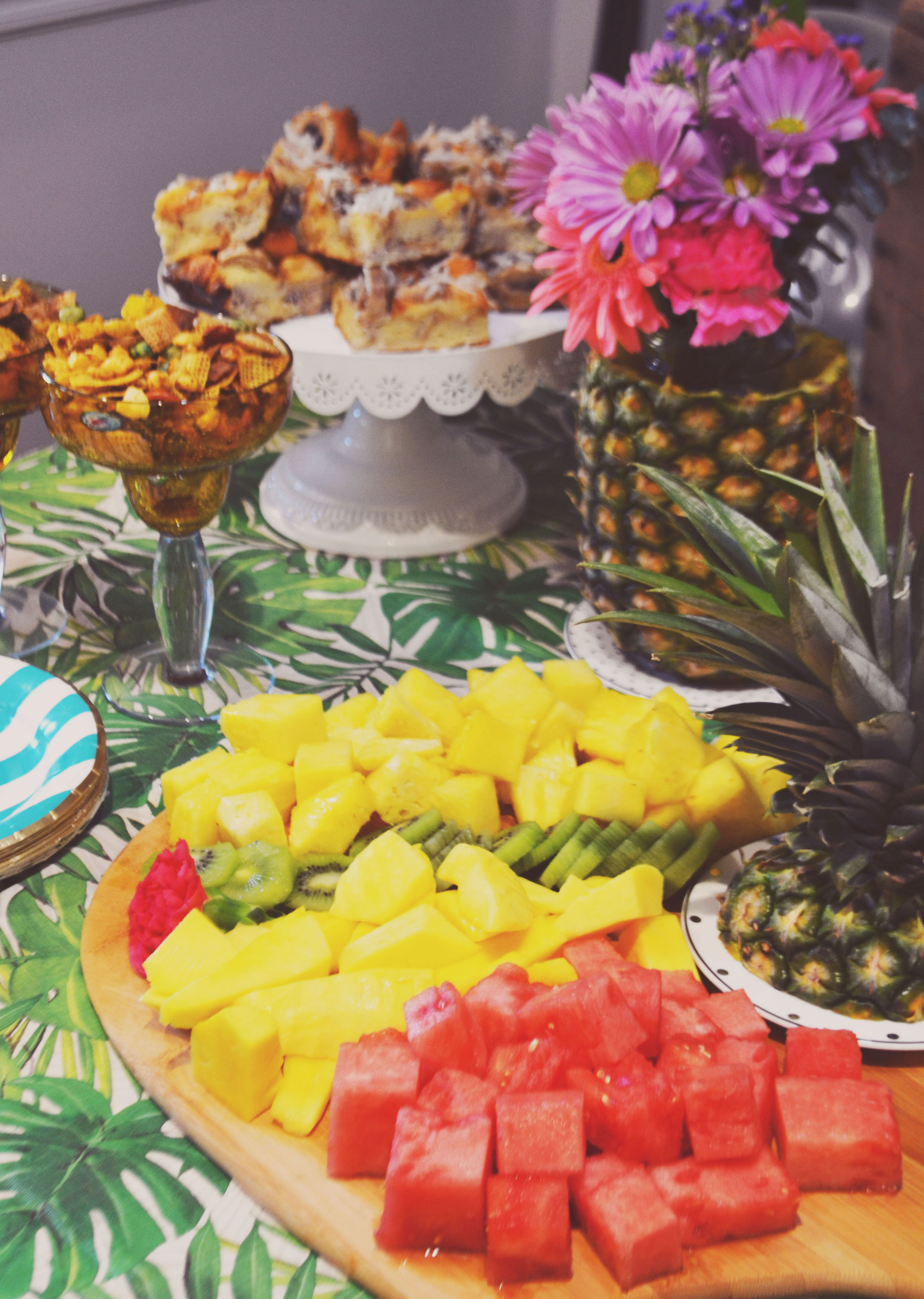 Aloha Summer Brunch Spread | BySarahRae.com