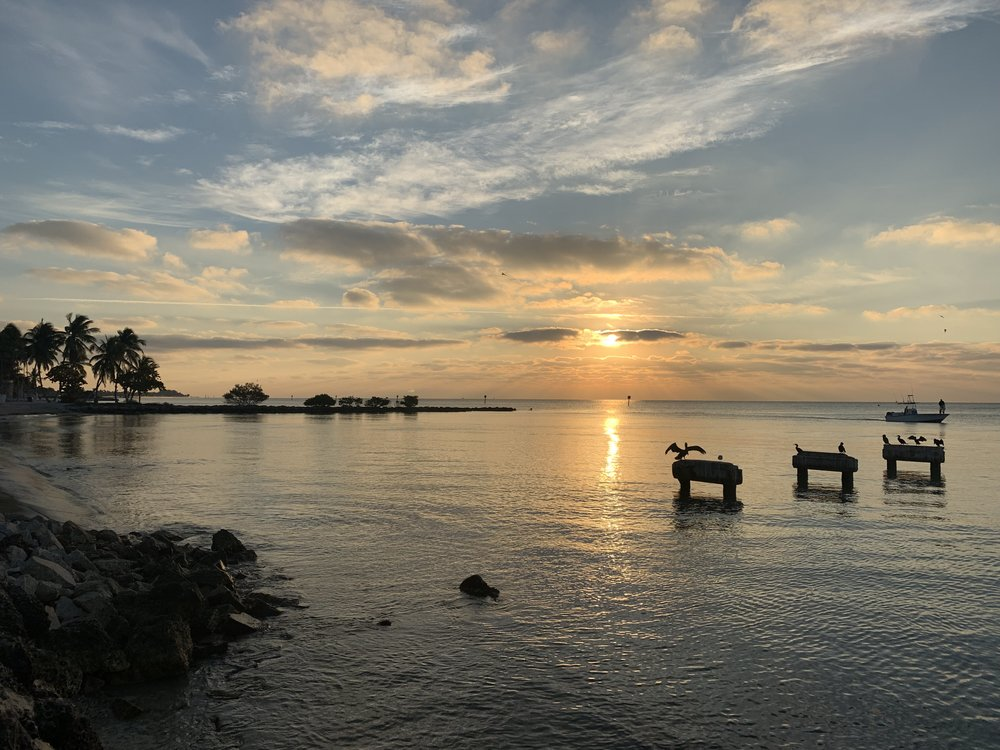 Sunrise in Key West | Traveling with a Toddler | Key West Family Travel | By Sarah Rae