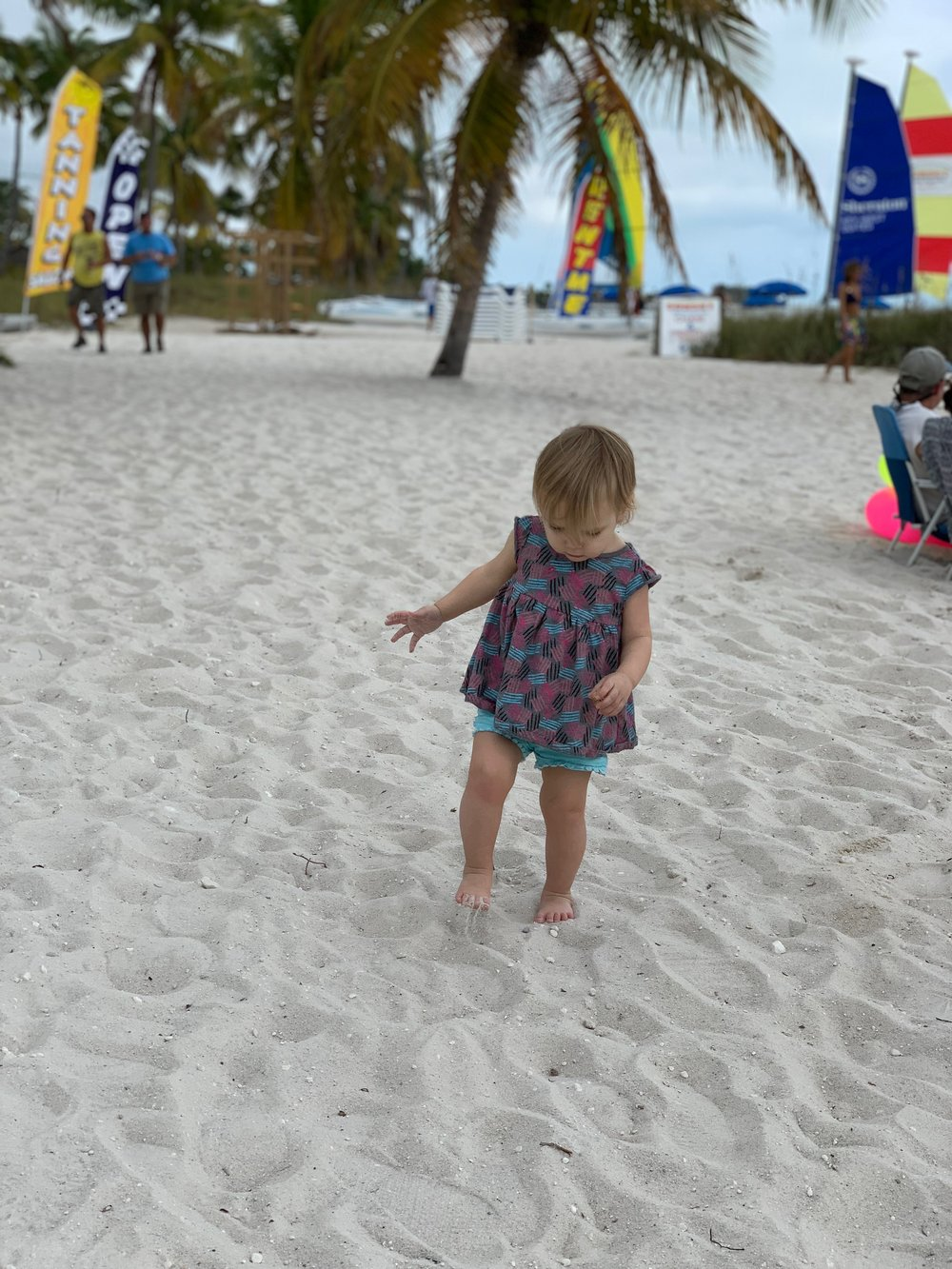 Smathers Beach | Key West Florida | Traveling with a Toddler | By Sarah Rae