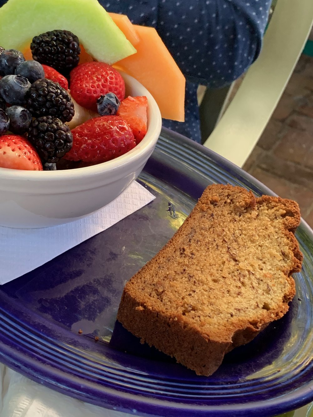 Blue Heaven | Key West Florida | Banana Bread | Brunch | Traveling with a toddler | By Sarah Rae