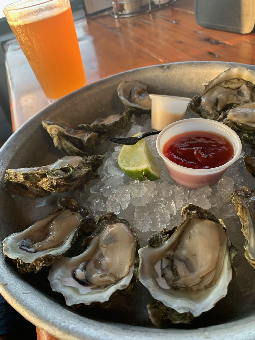 Oysters | Half Shell Oyster Co | Key West | Florida | Happy Hour | By Sarah Rae