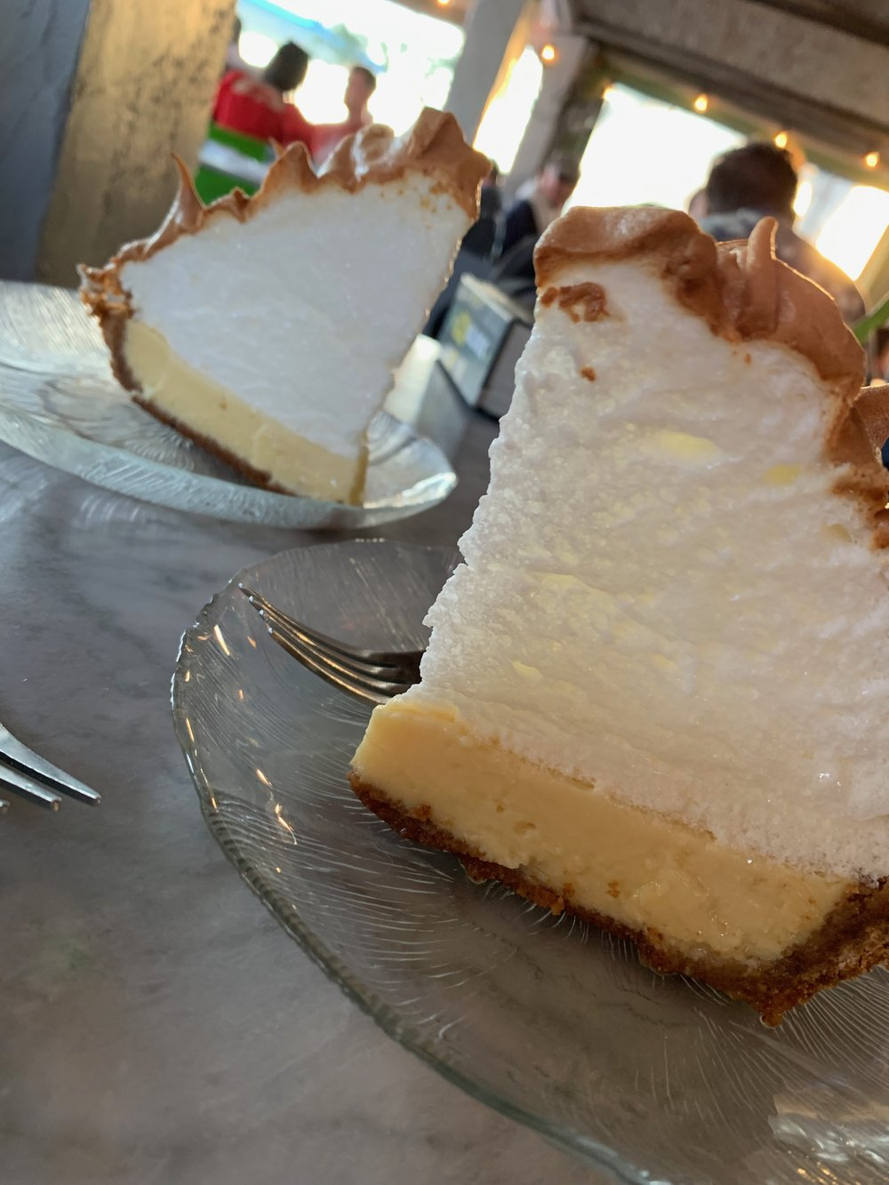 Key Lime Pie in Key West | Salute on the Beach | Dessert | By Sarah Rae
