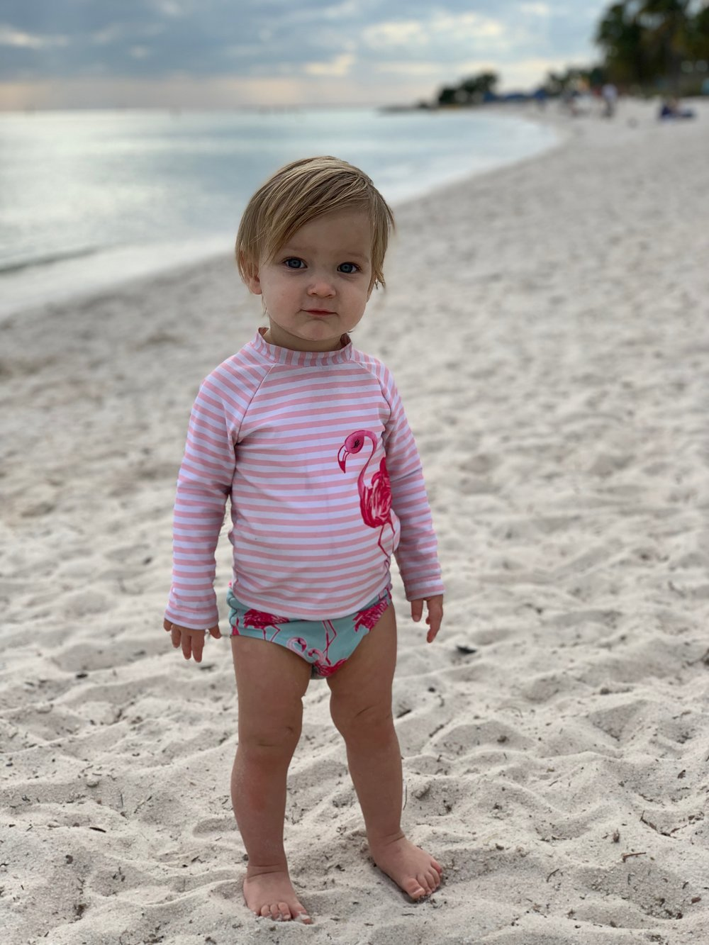 Smathers Beach | Key West Florida | Traveling with a toddler | kid friendly | By Sarah Rae