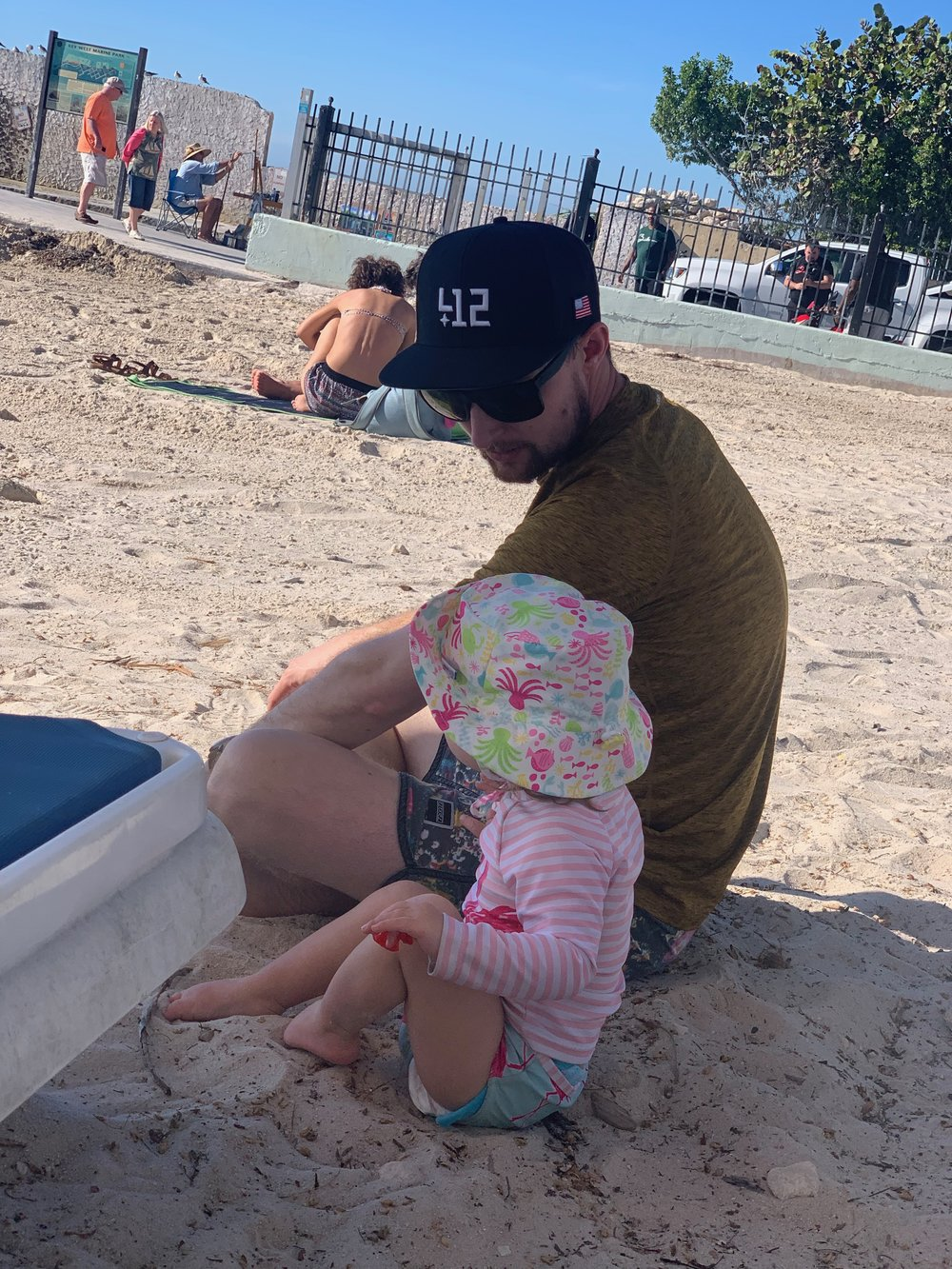 Southernmost Beach | Key West Florida | Traveling with a toddler | By Sarah Rae
