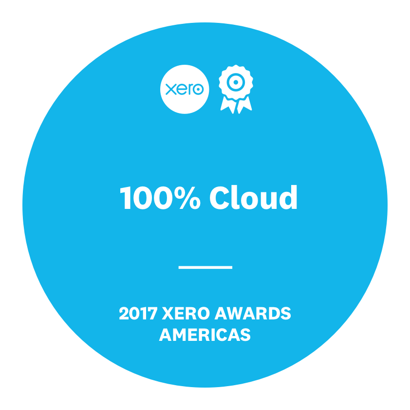55621 - 2017 Xero Partner Awards - Badge - 100% Cloud.png