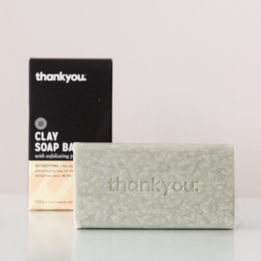 Thank You Clay Soap Bar