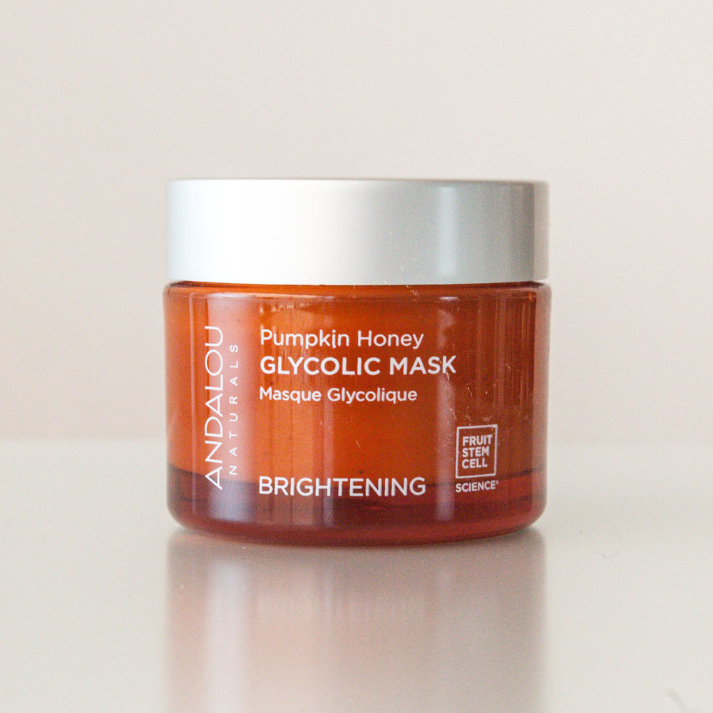 Andalou Pumpkin Honey Glycolic Mask