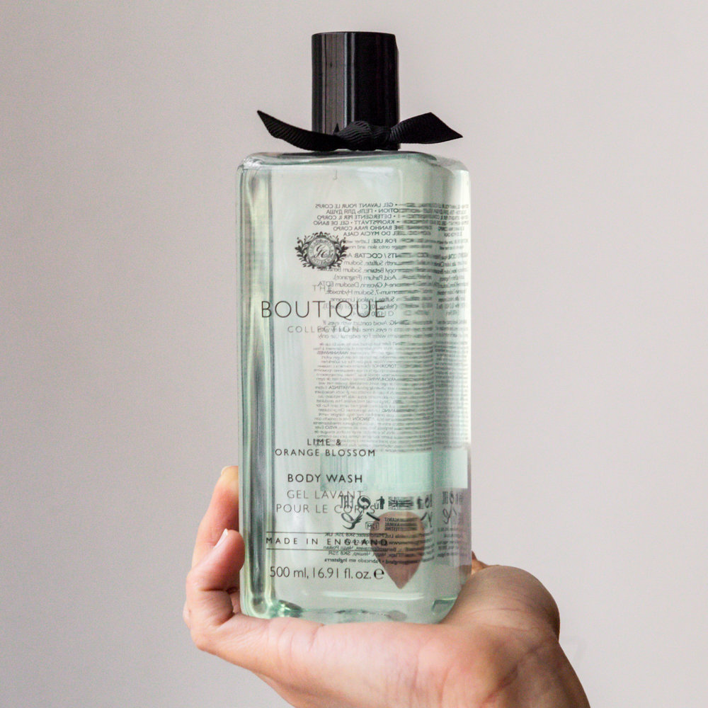 Grace Cole Boutique Collection Lime and Orange Blossom Hand Wash Product Review Noema