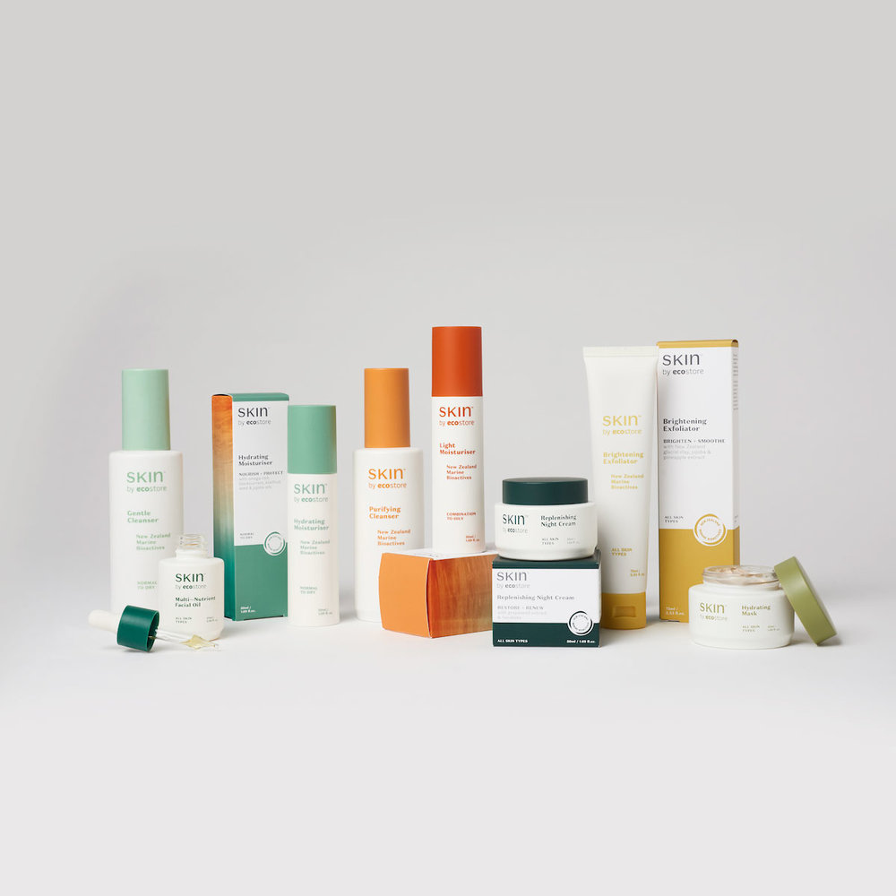 SKIN is part of ecostore's extensive range that aims to provide safer, healthier, plant based products. Image via  ecostore .