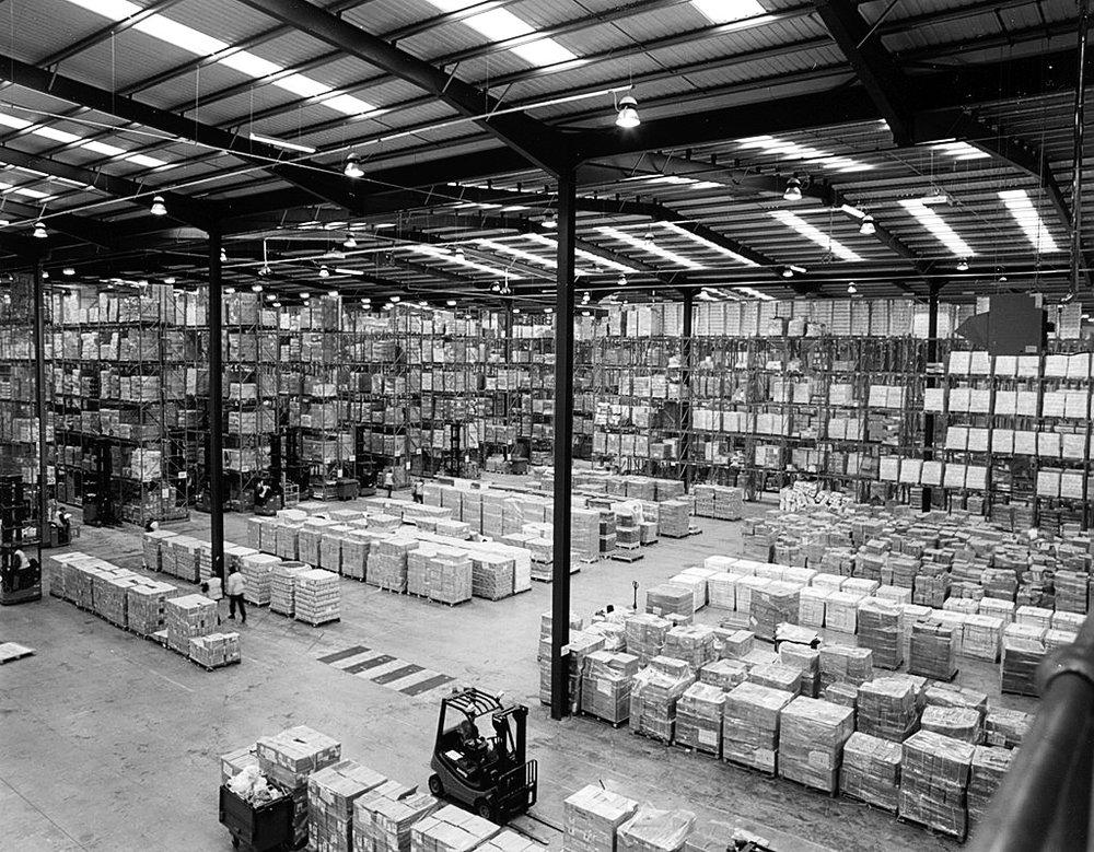 Modern Warehouse with Wi-Fi HaLow