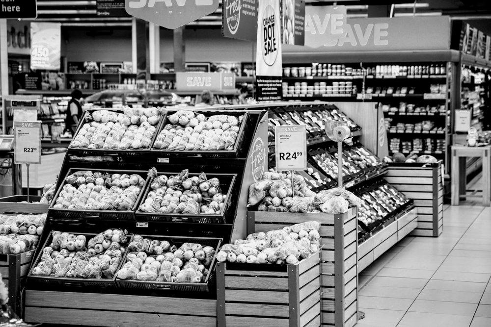 Supermarket with Wi-Fi HaLow