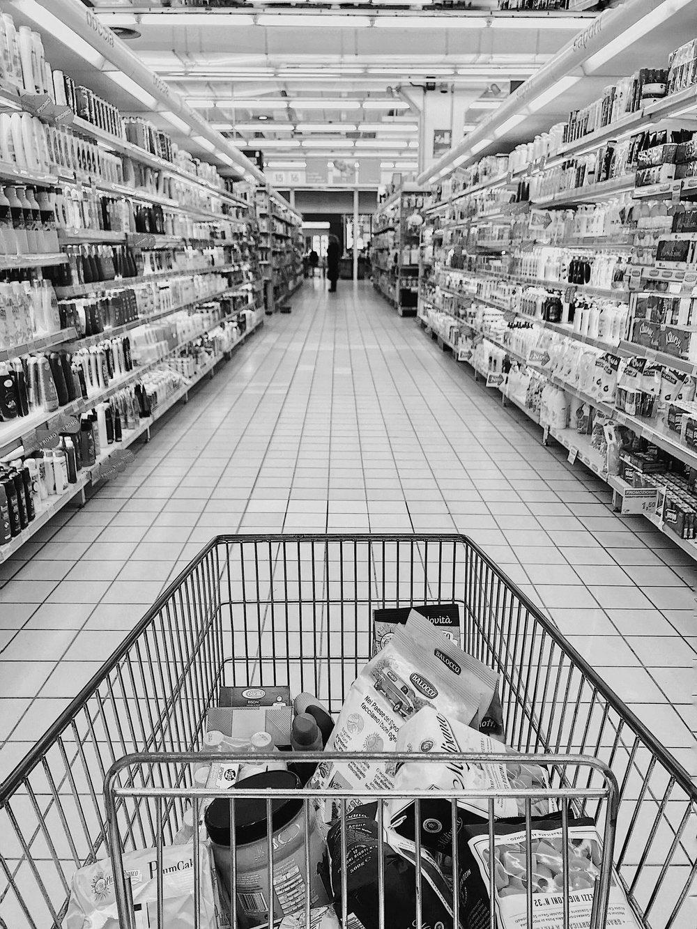 Wi-Fi HaLow in Retail Shopping Cart